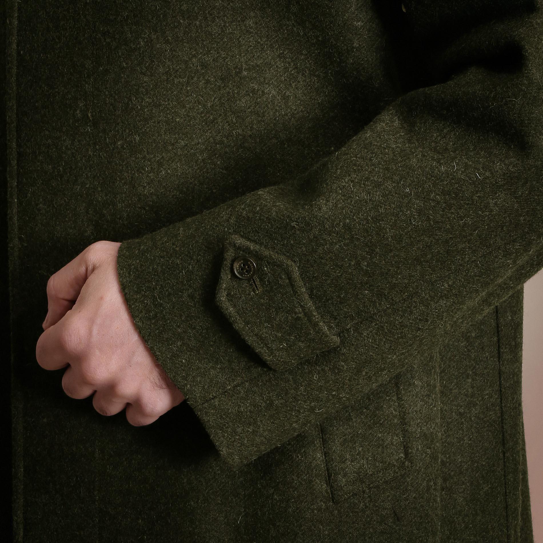 LODEN CLOTH ラグランスリーブコート