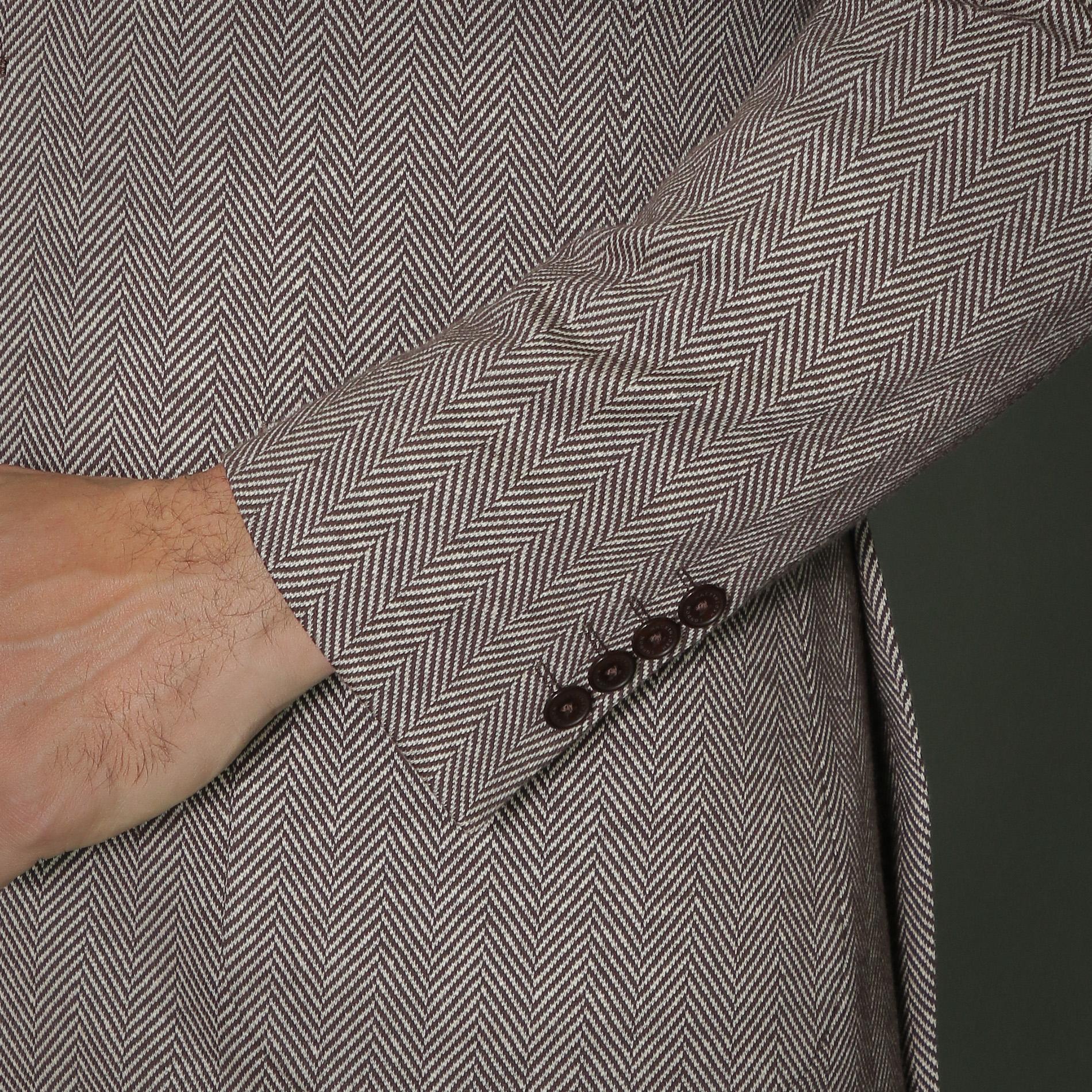 【FLEX JERSEY】ヘリンボーンツイードジャージジャケット