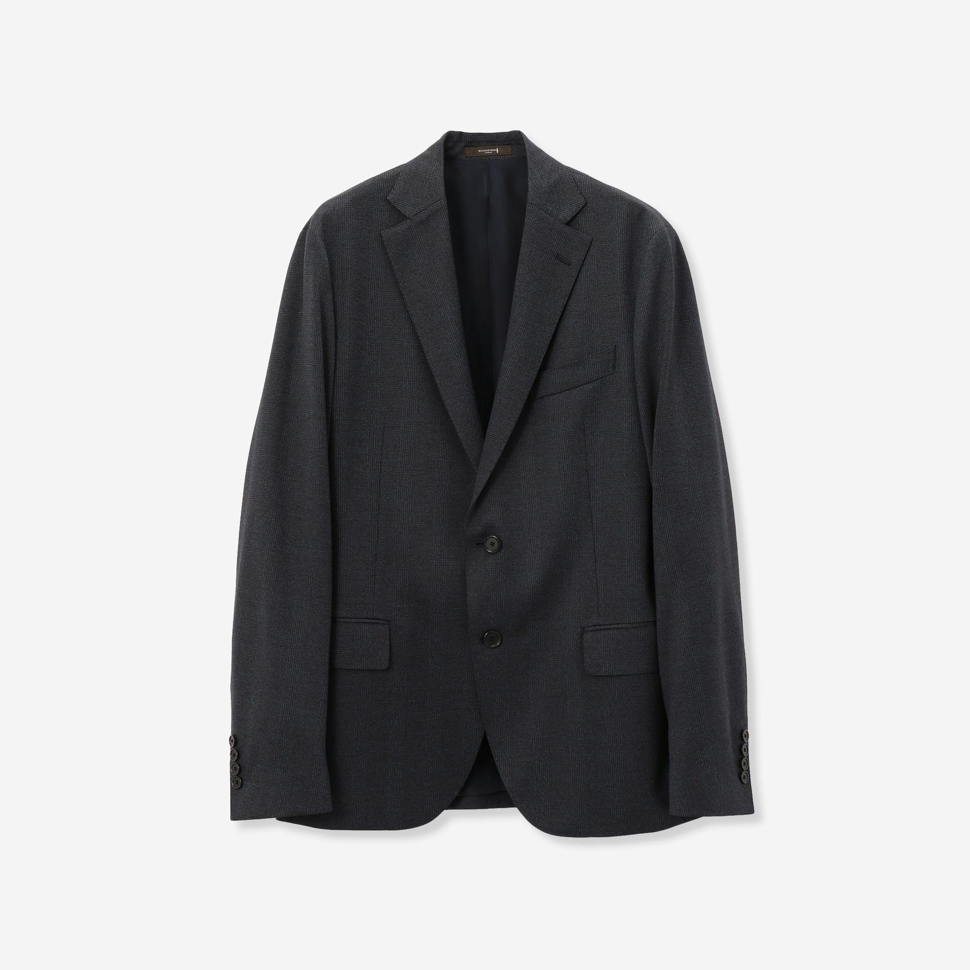 【NEW BRIDGE】【FLEX JERSEY】グレンチェックジャケット