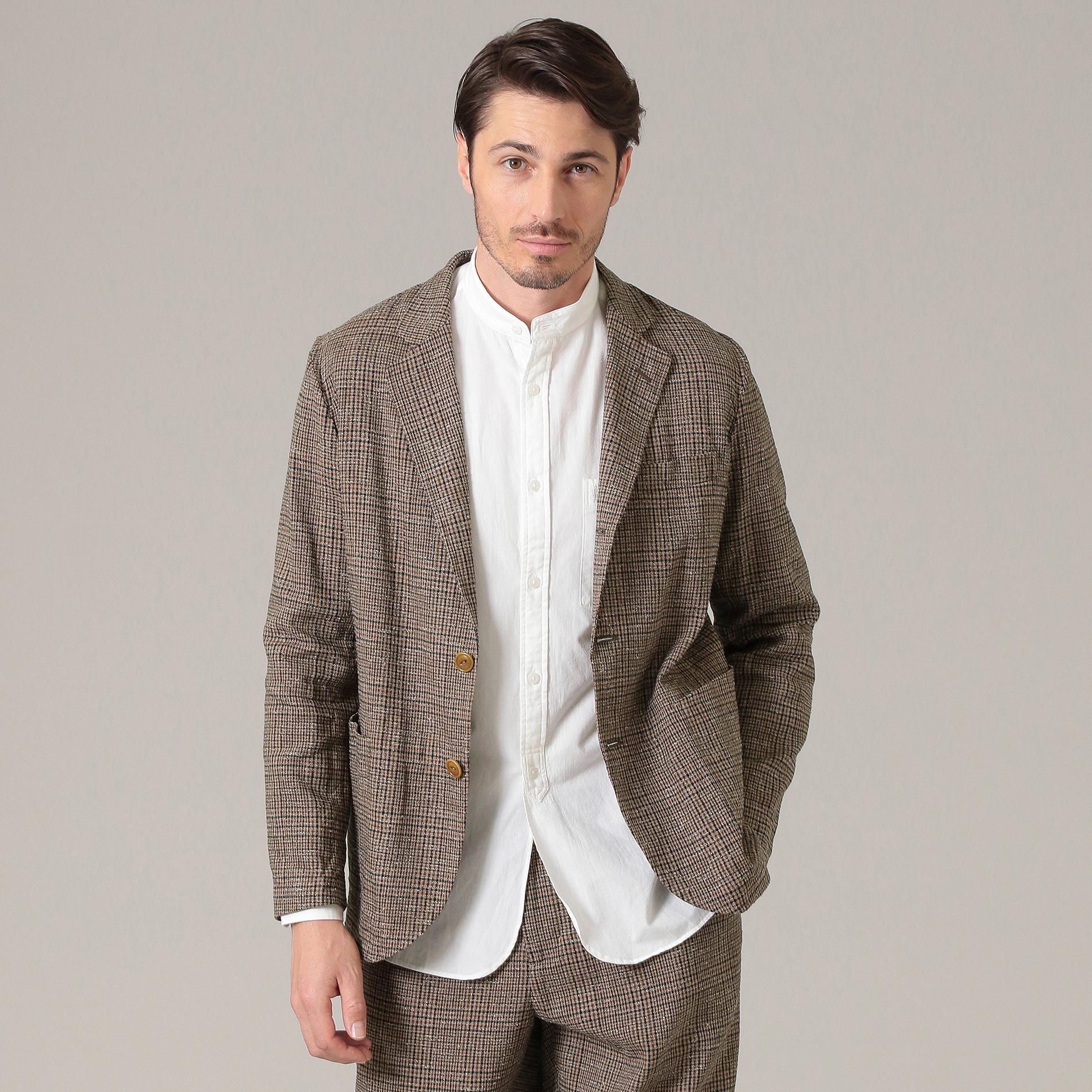 【BOTTOLI】BENEZIAN TWEED フレンチワークジャケット