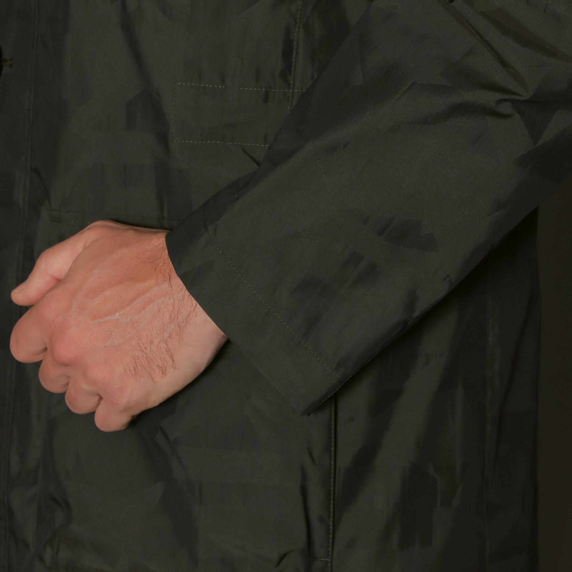 ◆◆【BERWICK】アンドリューカモフラージュジャガードパーカー