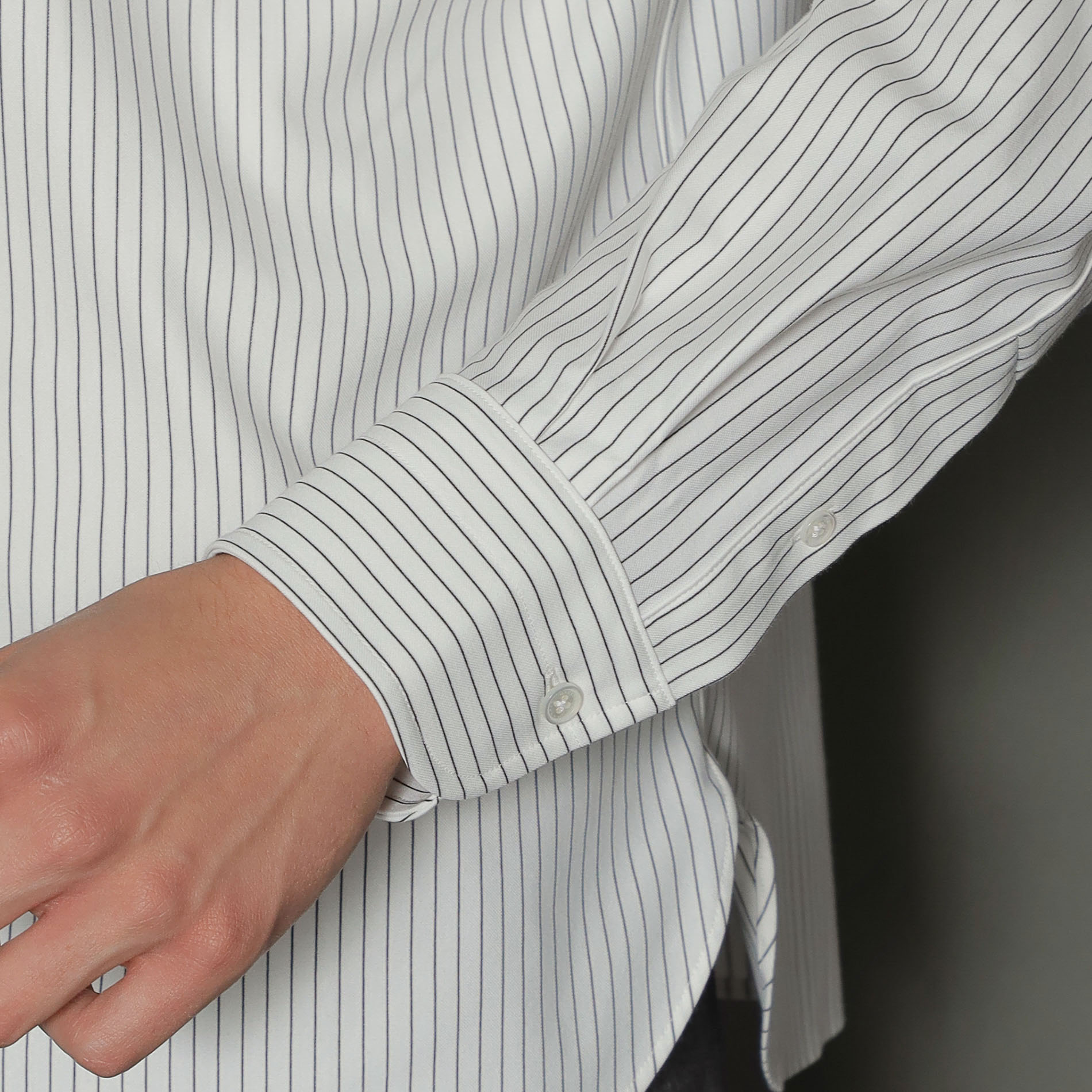 ◆◆【FLEX JERSEY】ピンストライプジャージシャツ