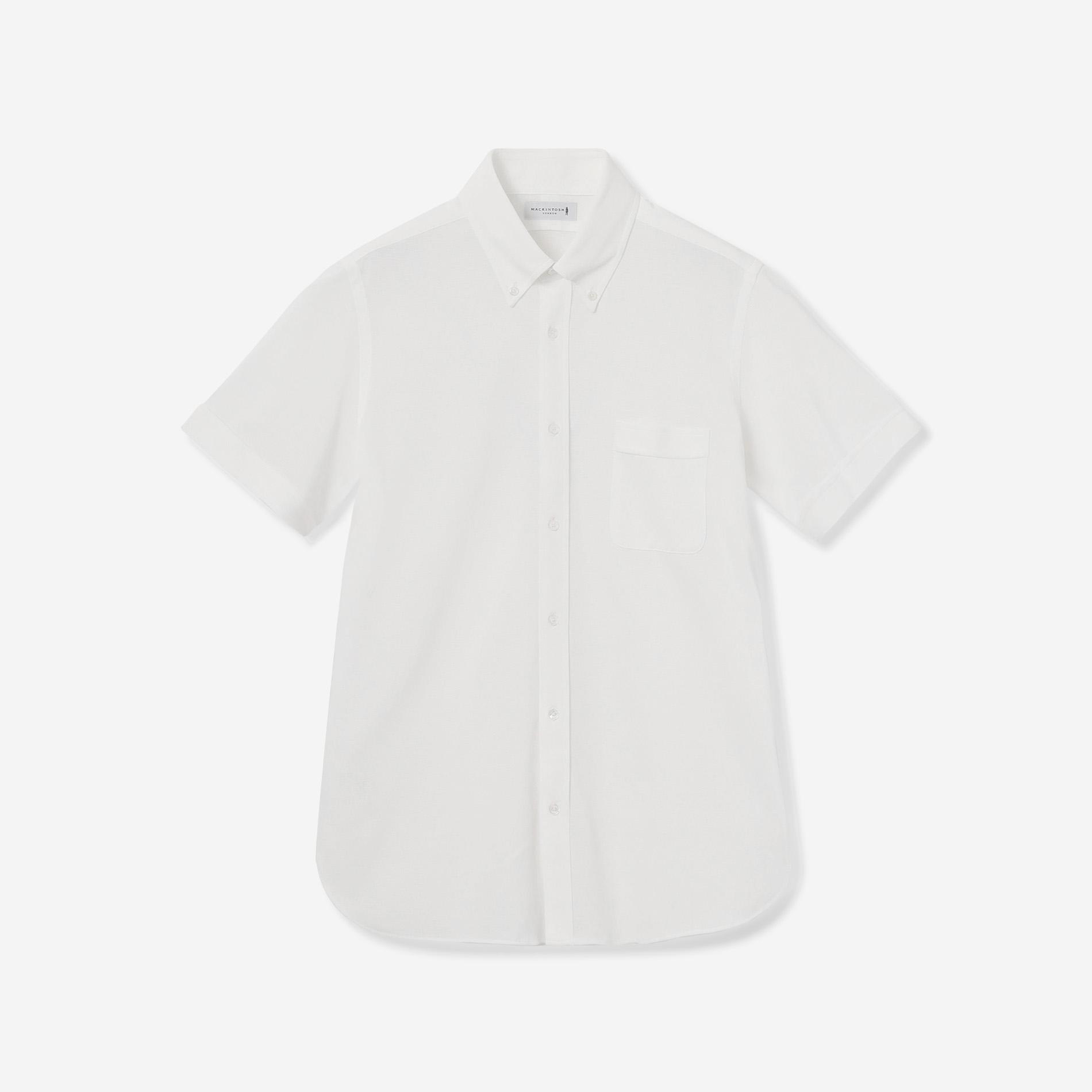 【FLEX JERSEY】ドライ鹿の子半袖ジャージドレスシャツ