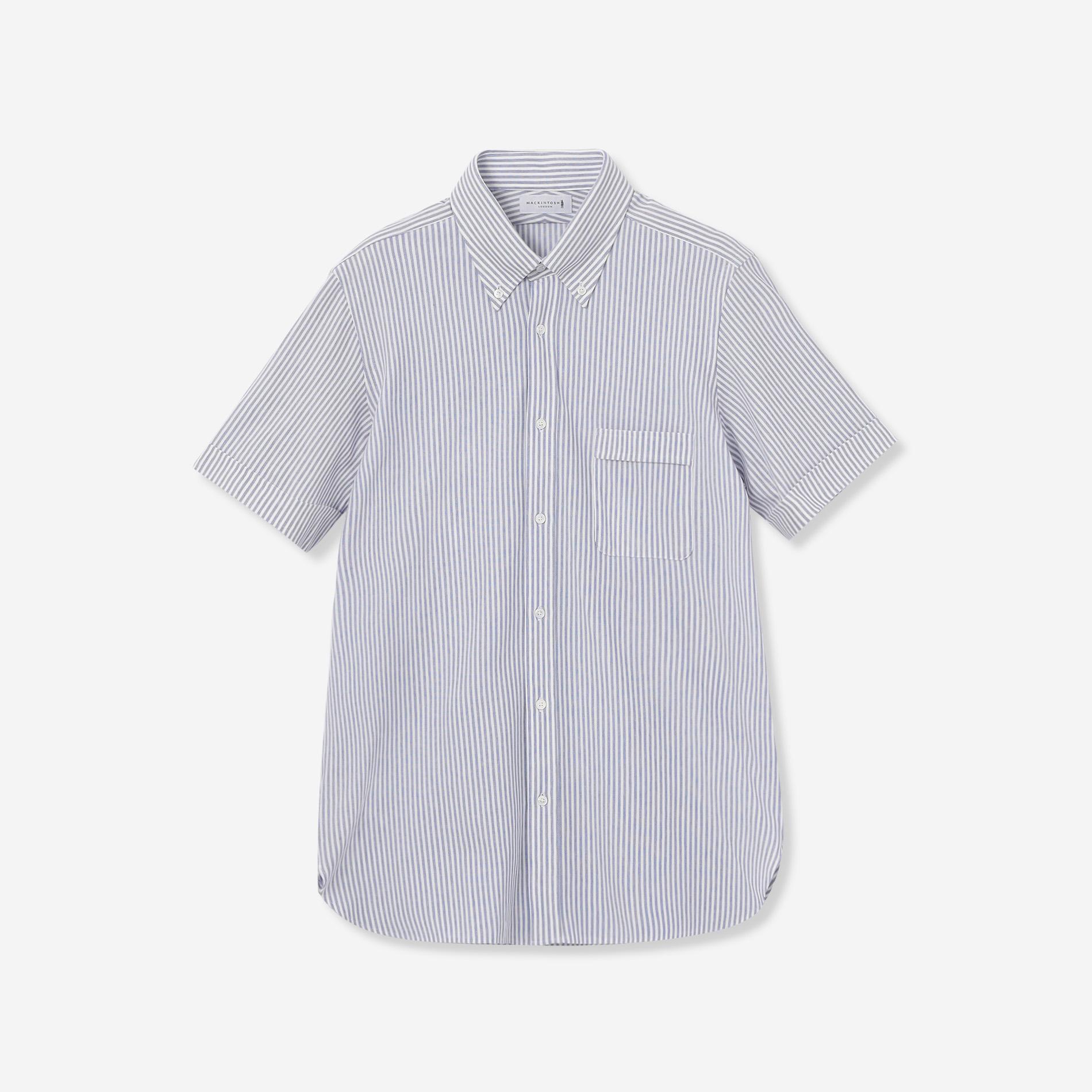 【FLEX JERSEY】ドライ鹿の子ロンストジャージ半袖ドレスシャツ