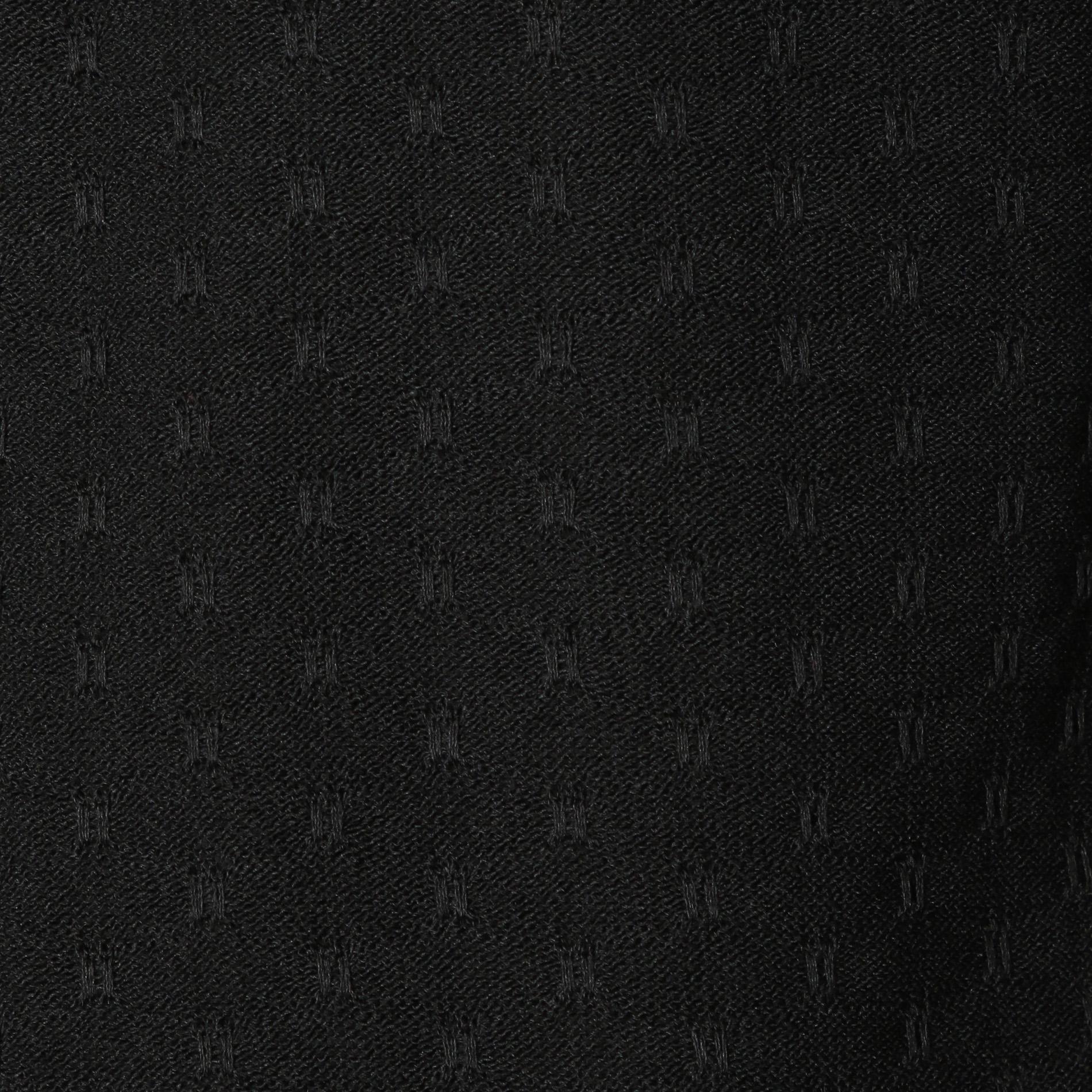 12ゲージミニクレスト柄ニットポロ