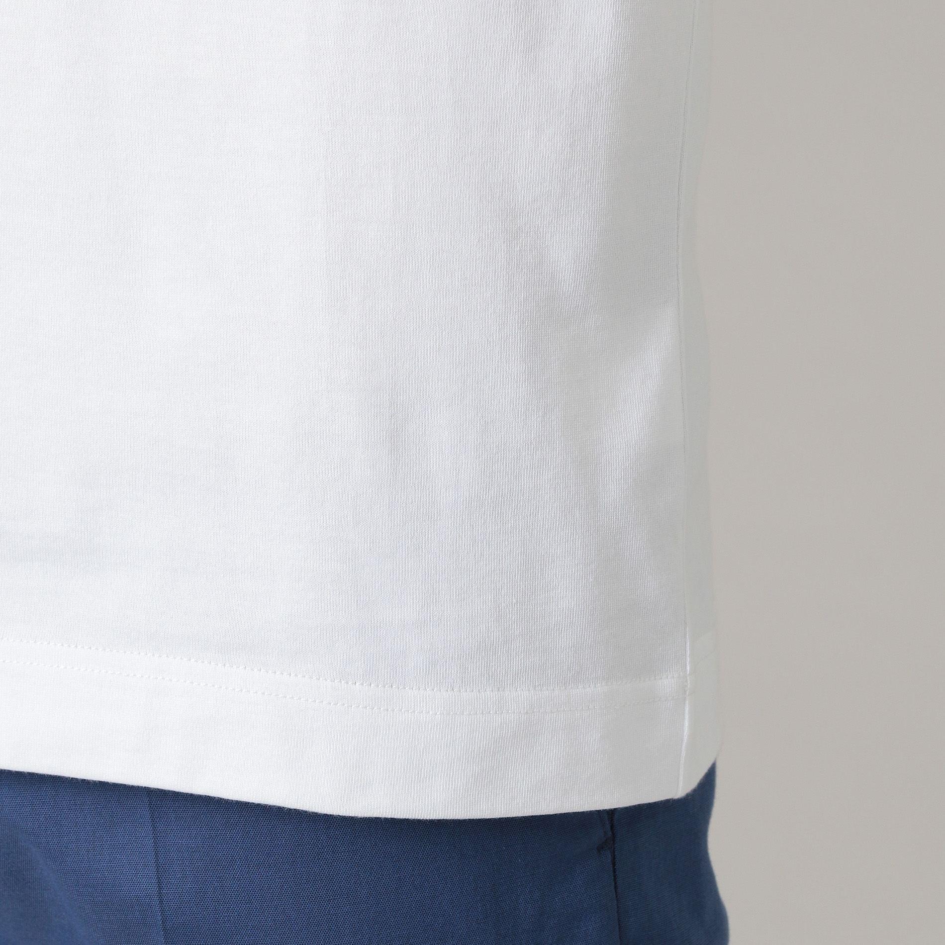 40/2天竺ロゴプリントTシャツ