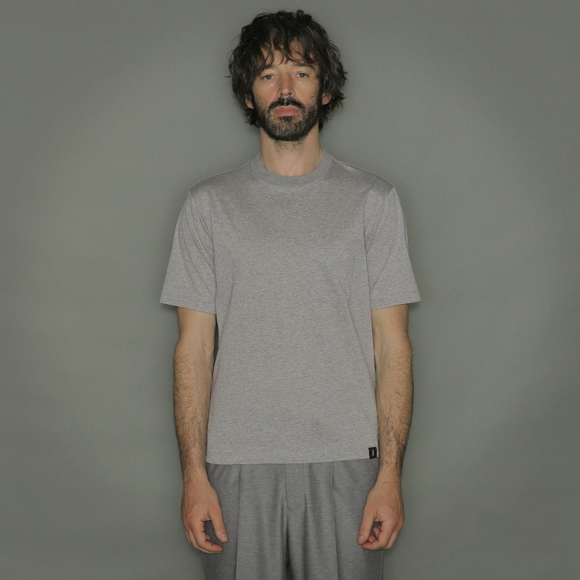 天竺胸ポケットTシャツ