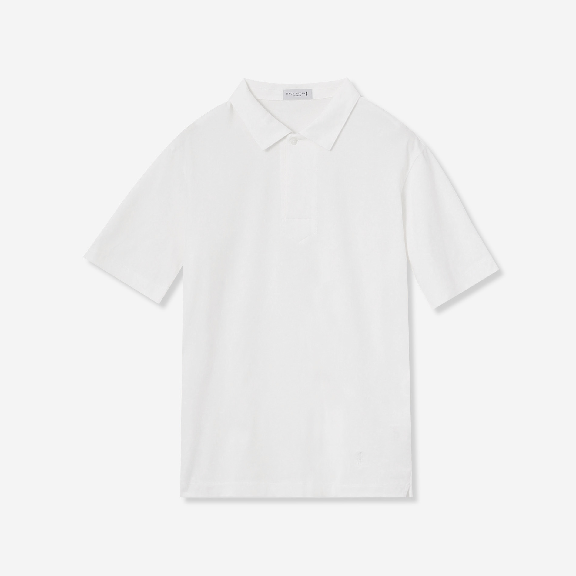 【WEB限定】天竺スキッパーポロシャツ