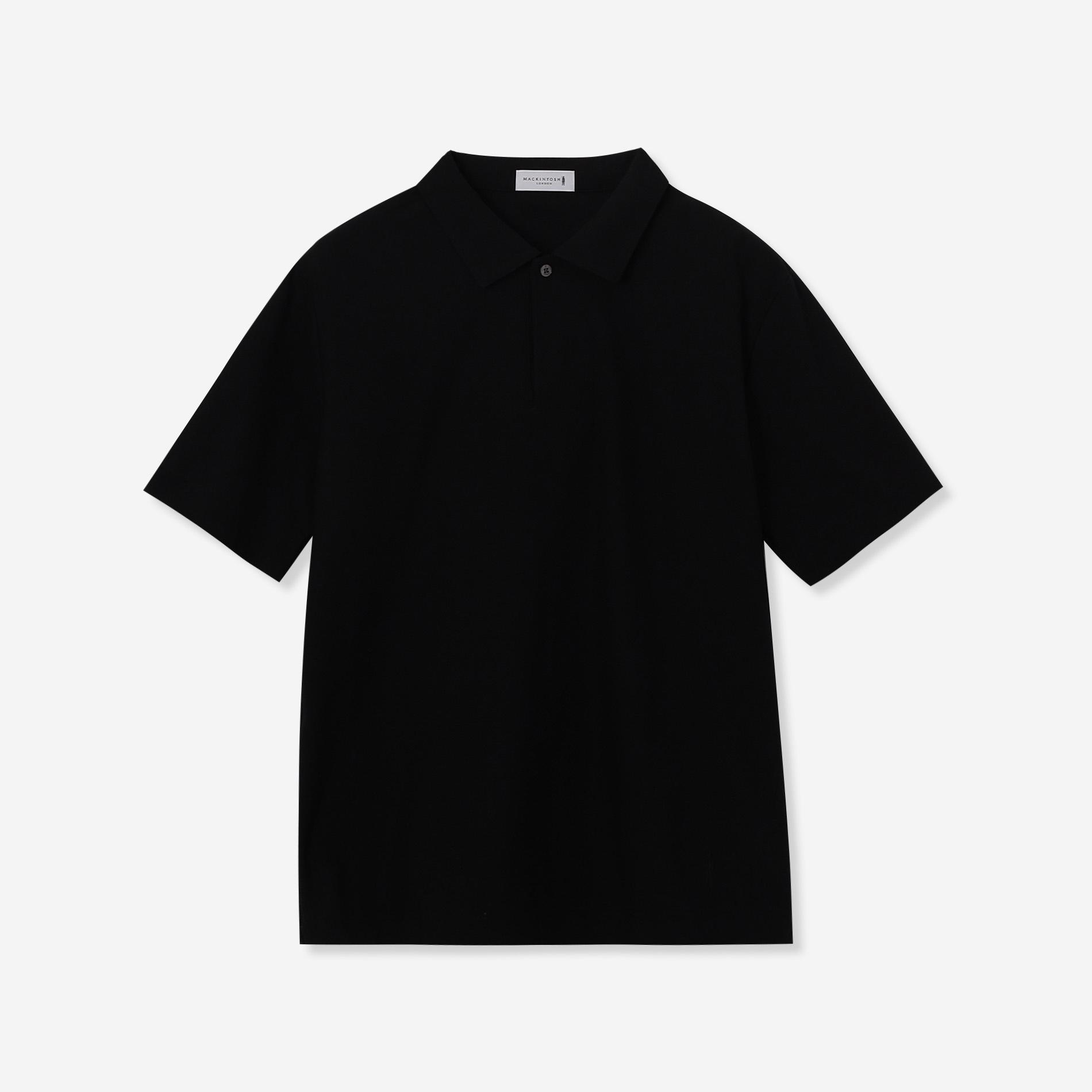 【WEB限定】鹿の子スキッパーポロシャツ