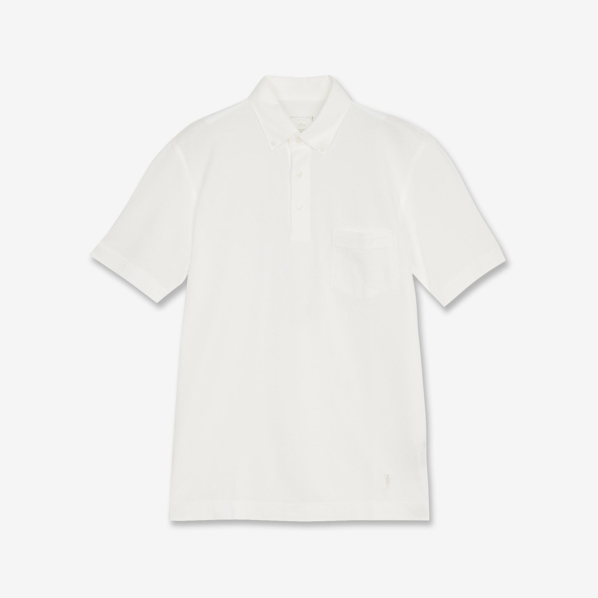 【MACKINTOSH 90】鹿の子ポロシャツ