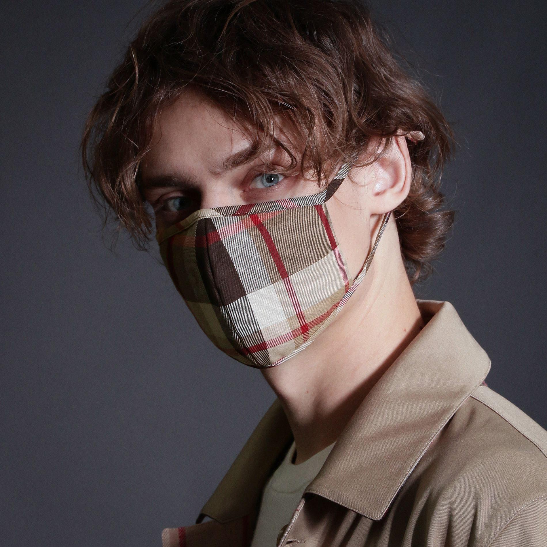 ハウスチェックマスク