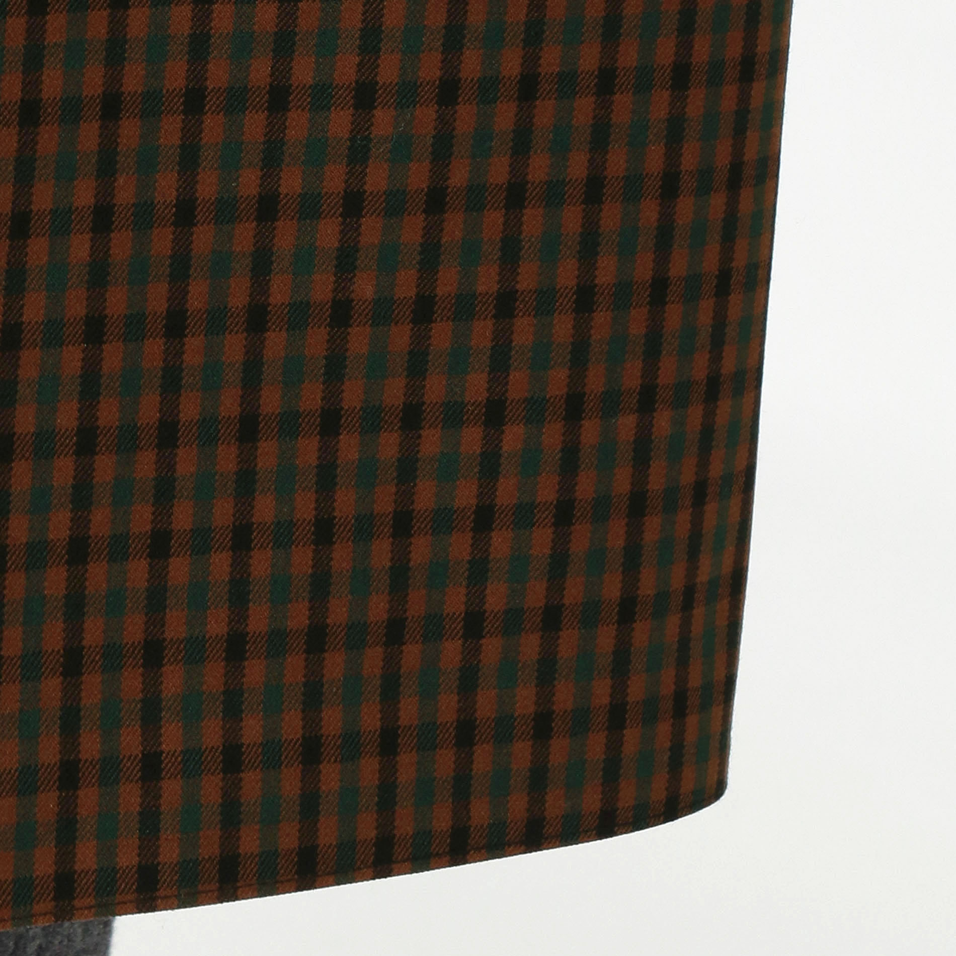 【MACKINTOSH】【DUNBAR ダンバー】ウールシェファードチェックコート