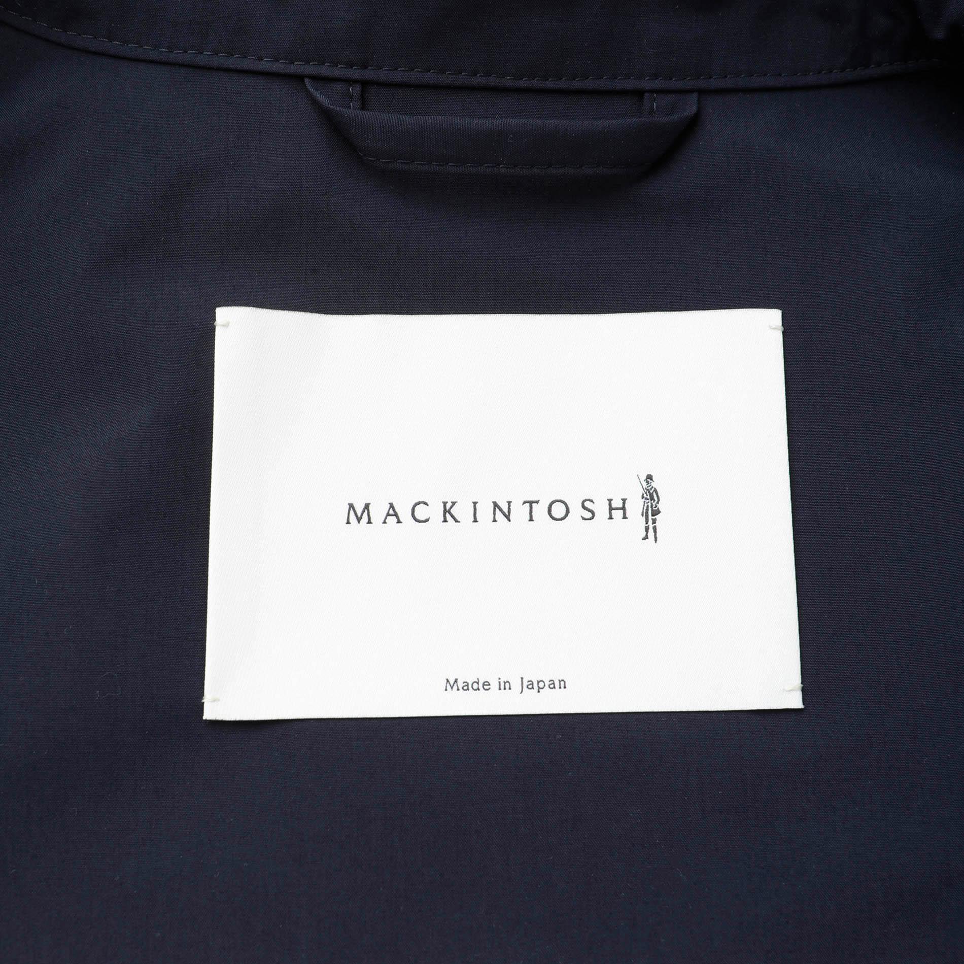 【MACKINTOSH】【DUNKELD】テクニカルステンカラーコート