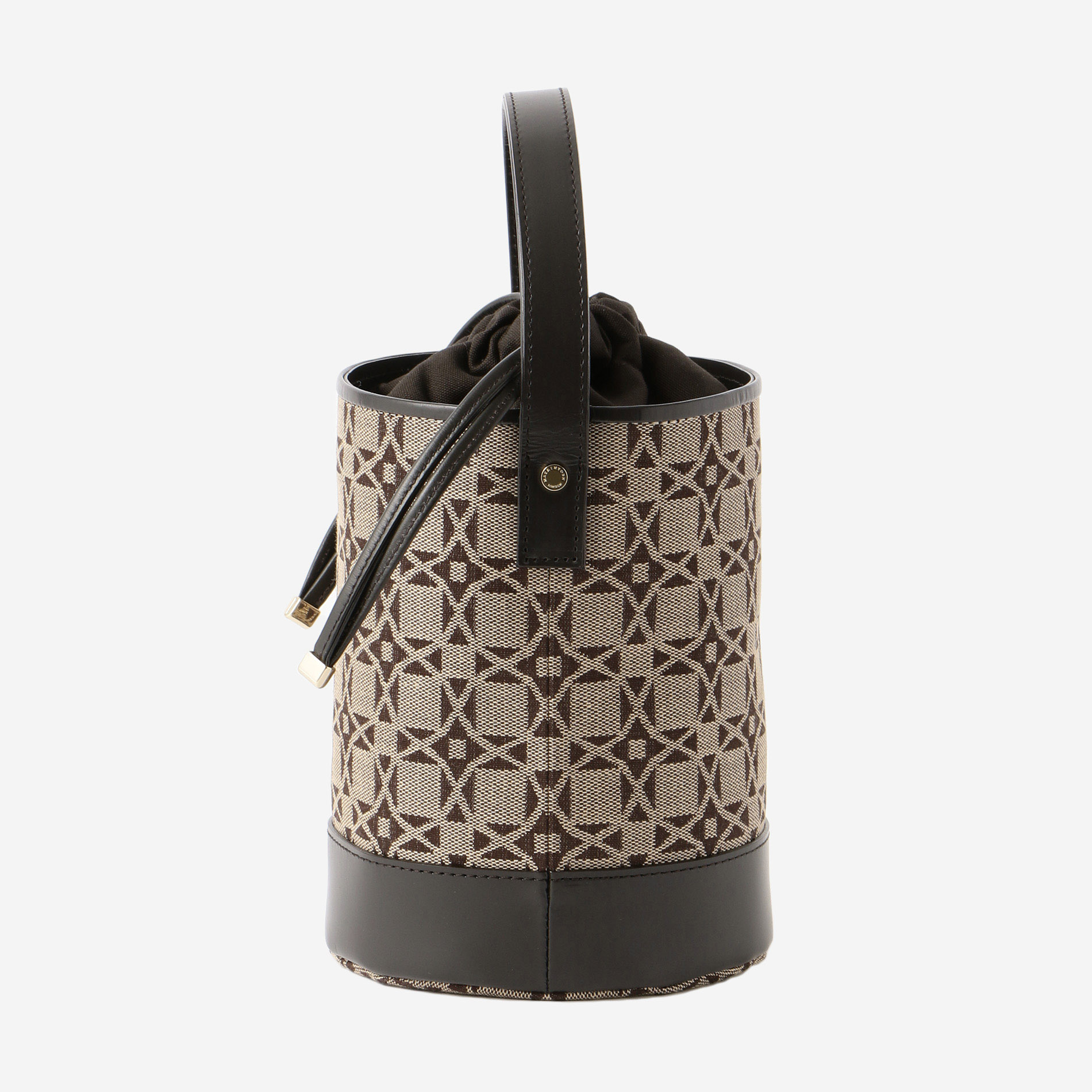 ANDREWジャガードバケットバッグ