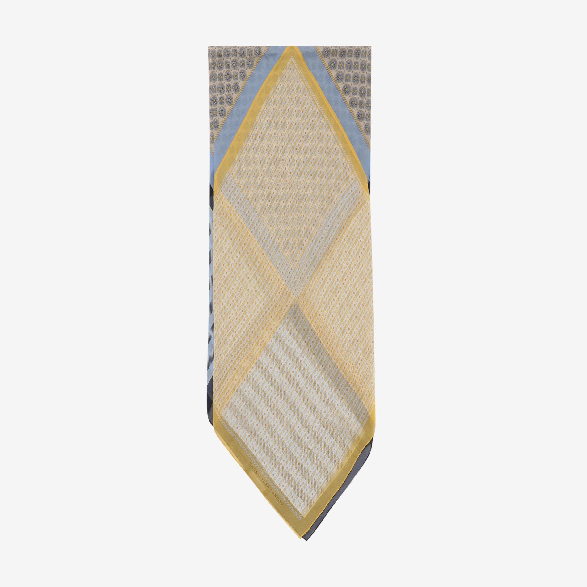 ブロッキングスヌードスカーフ