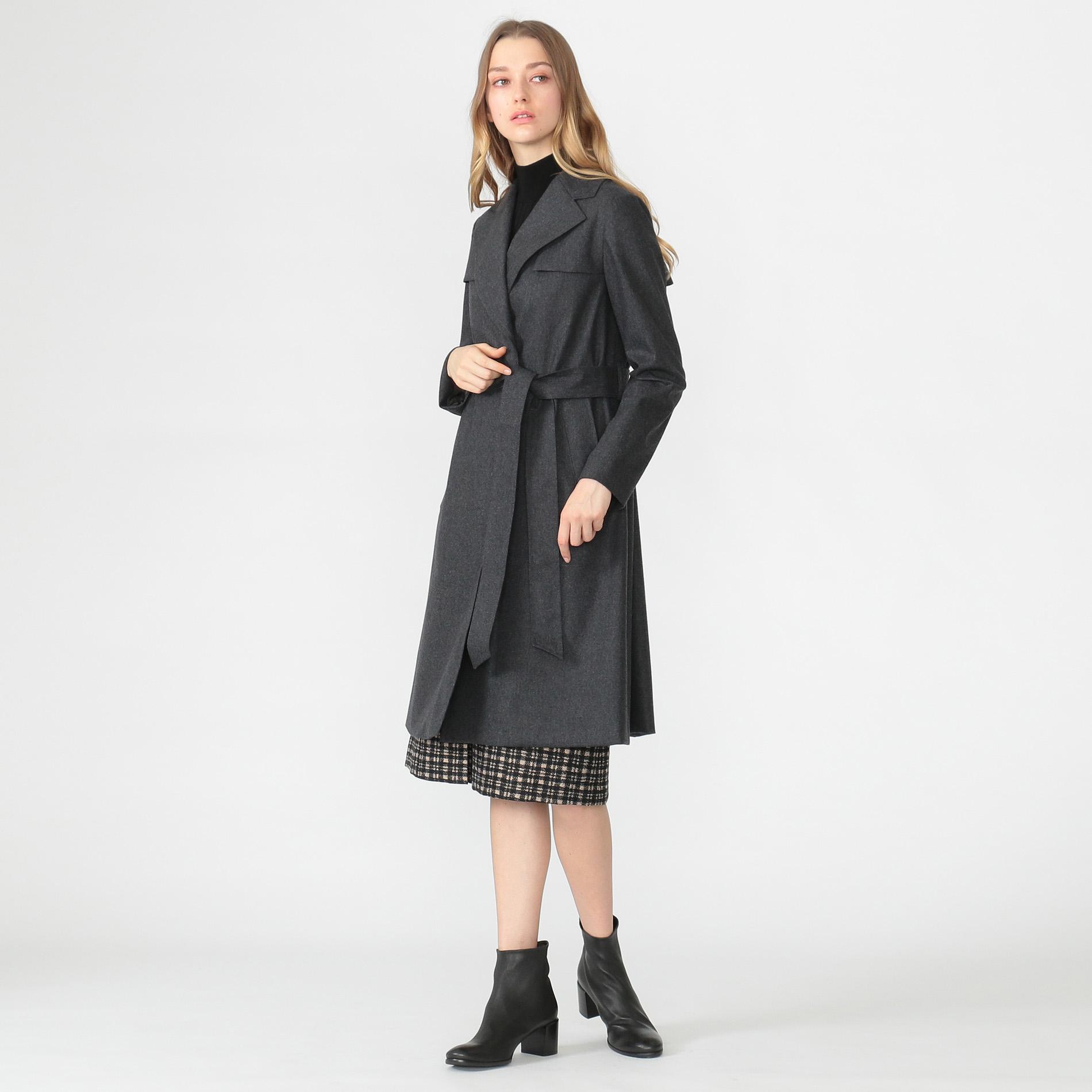 フラノラミネートコート