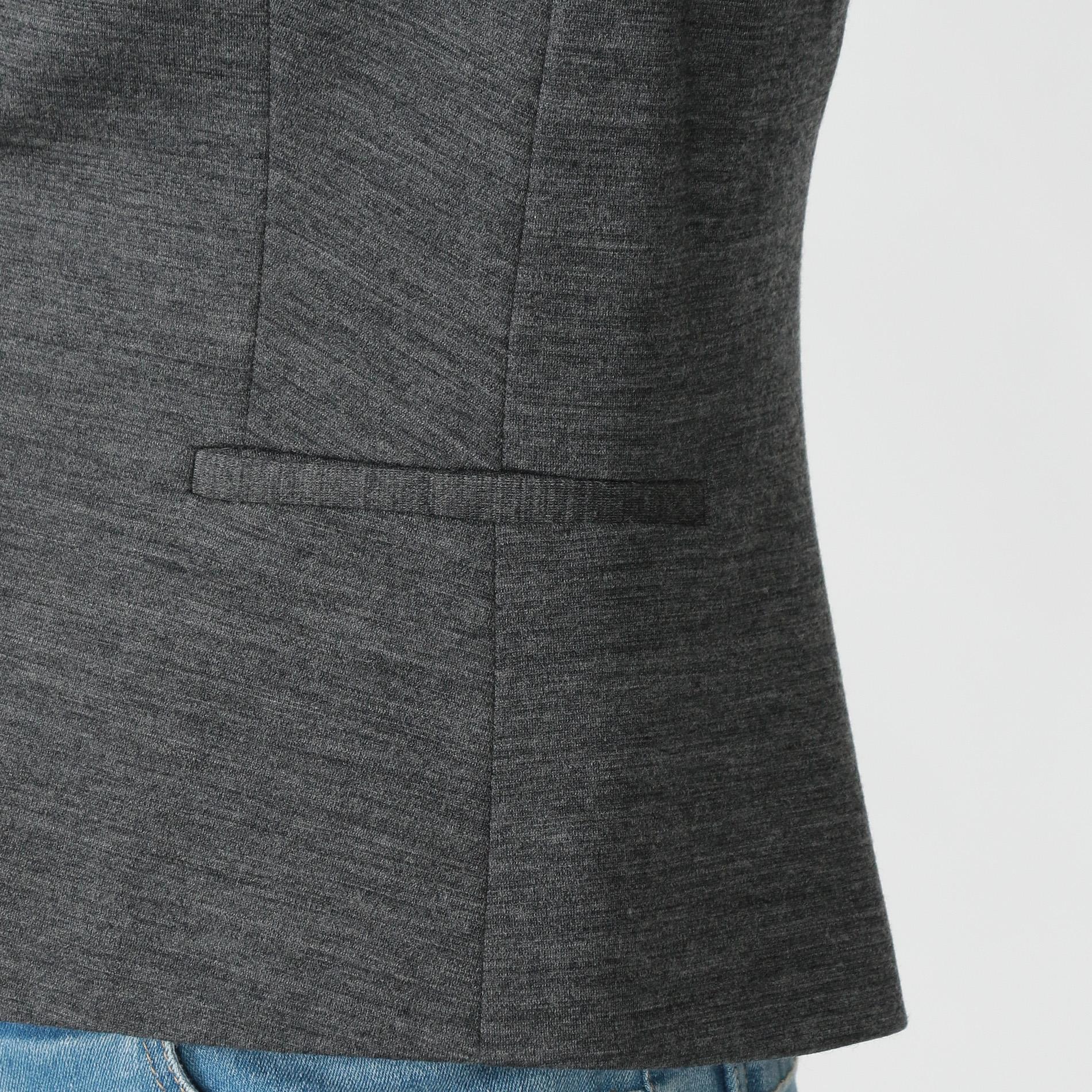 ウール防縮ポンチジャケット