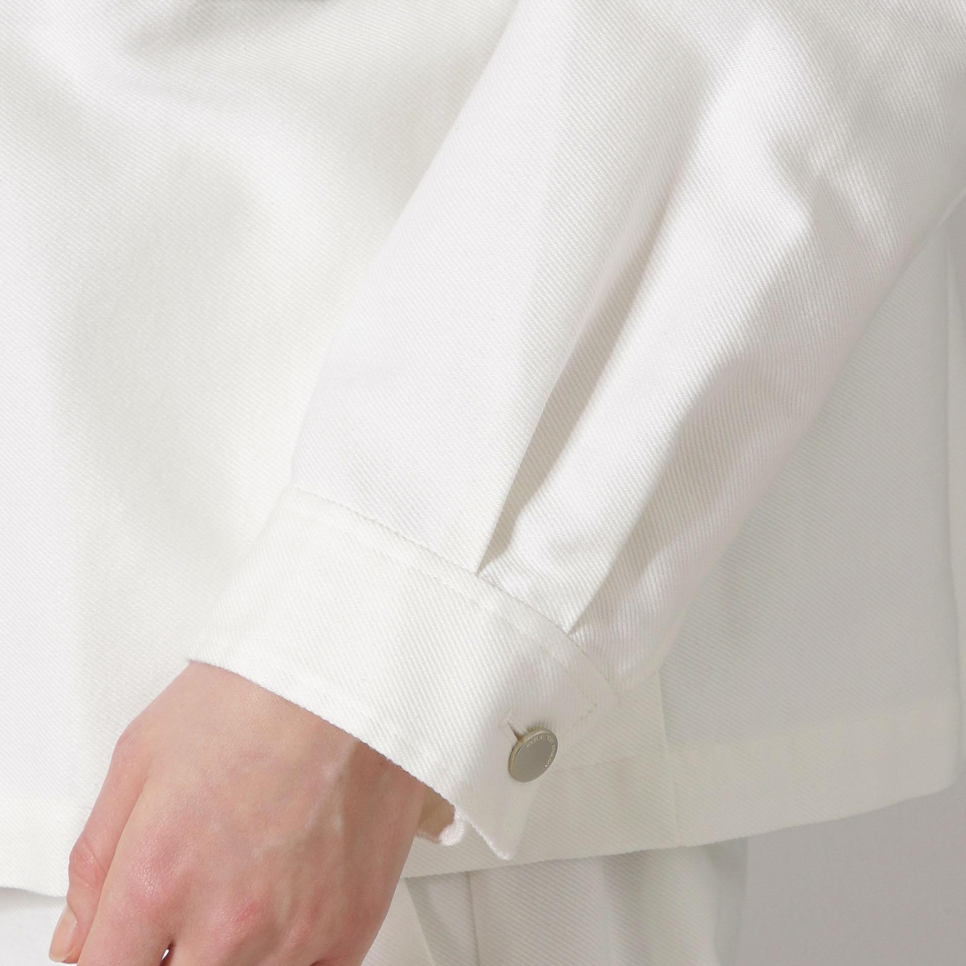 コットンシルクツイルCPOジャケット