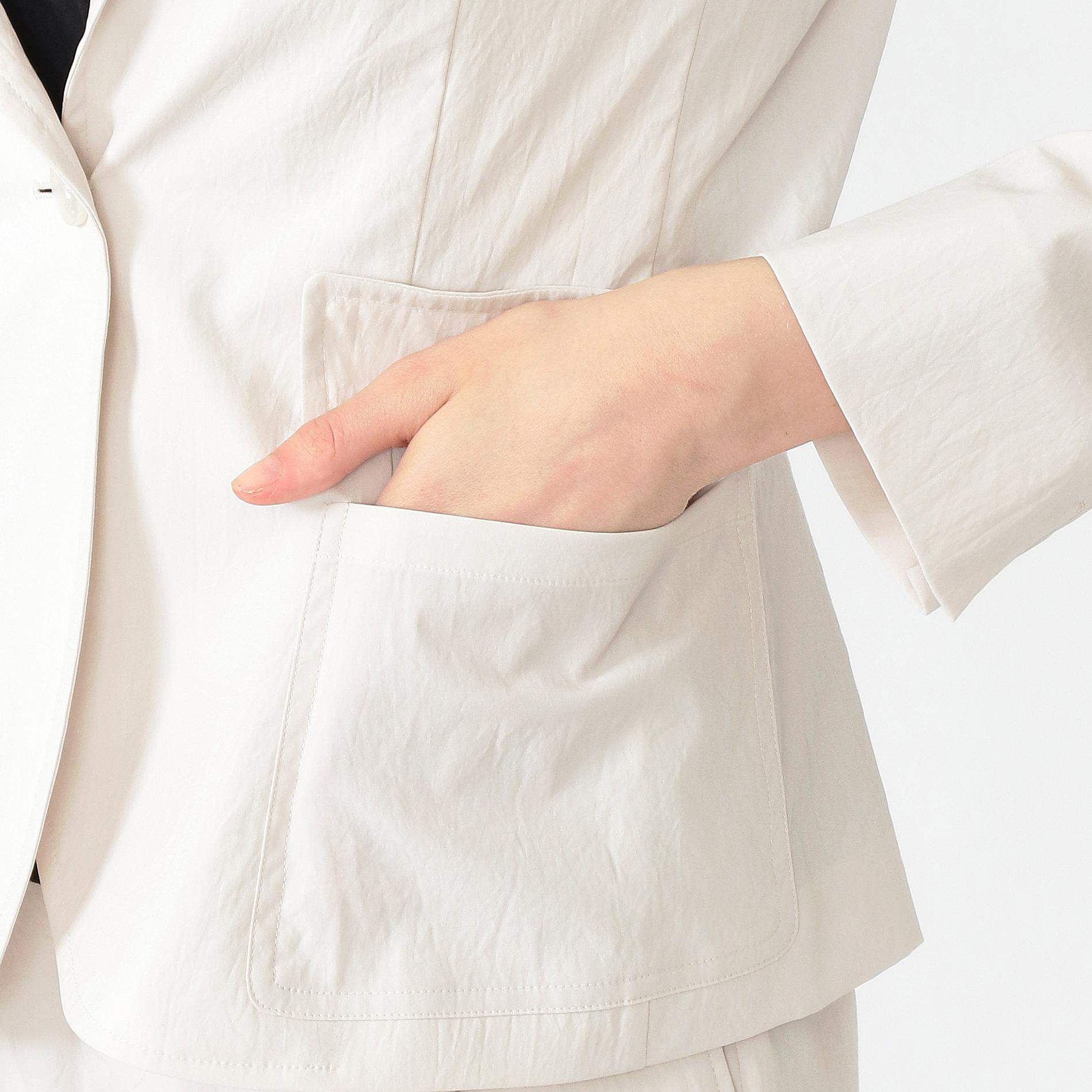 ポリエステルタスランジャケット