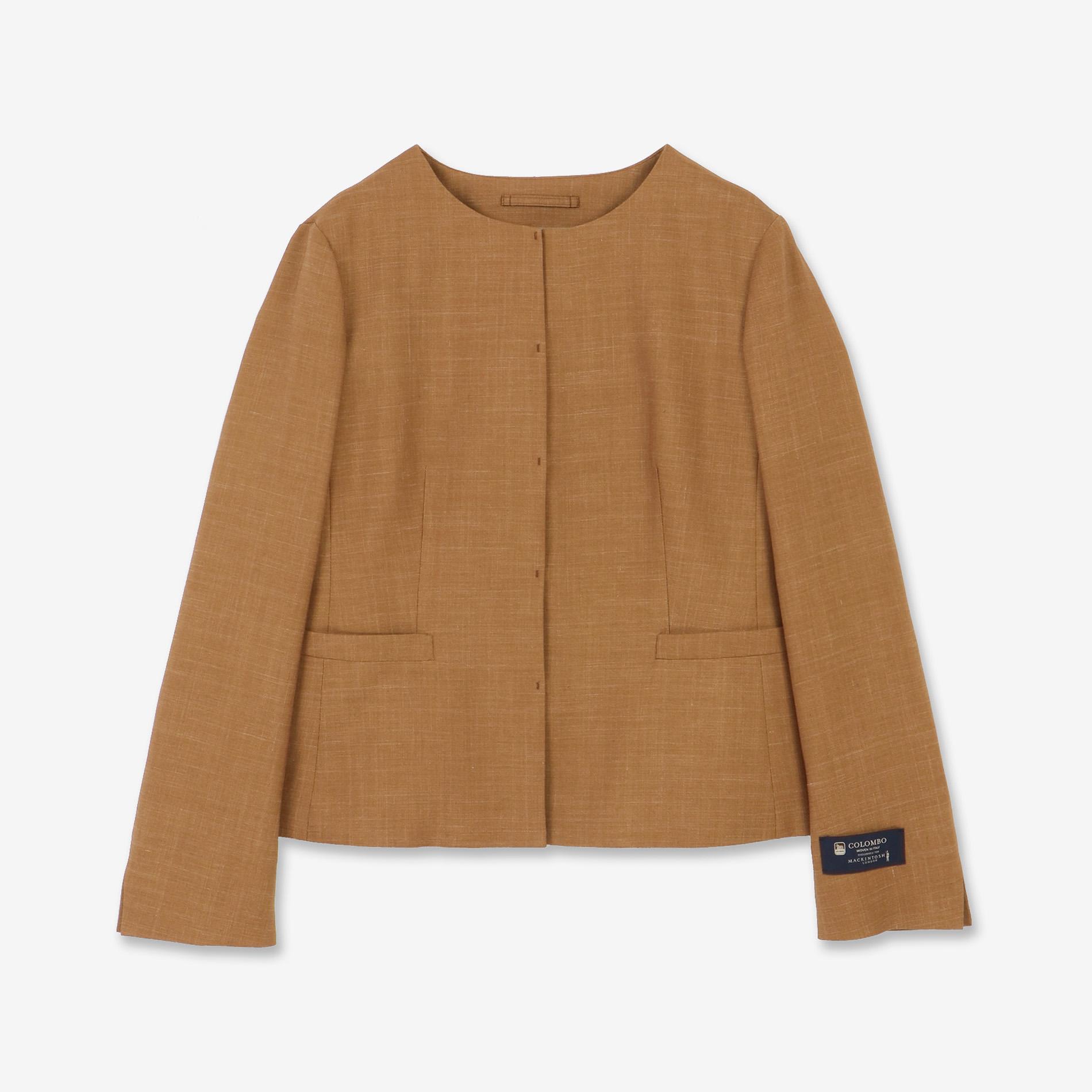 ウールシルクシャークジャケット