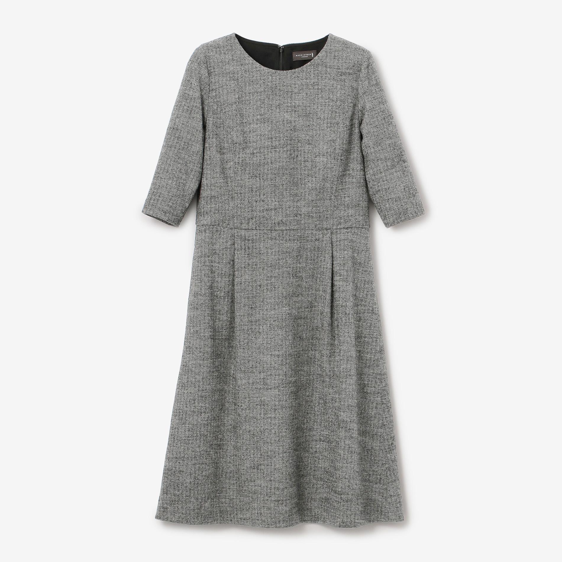ヘリンボーンバランサードレス