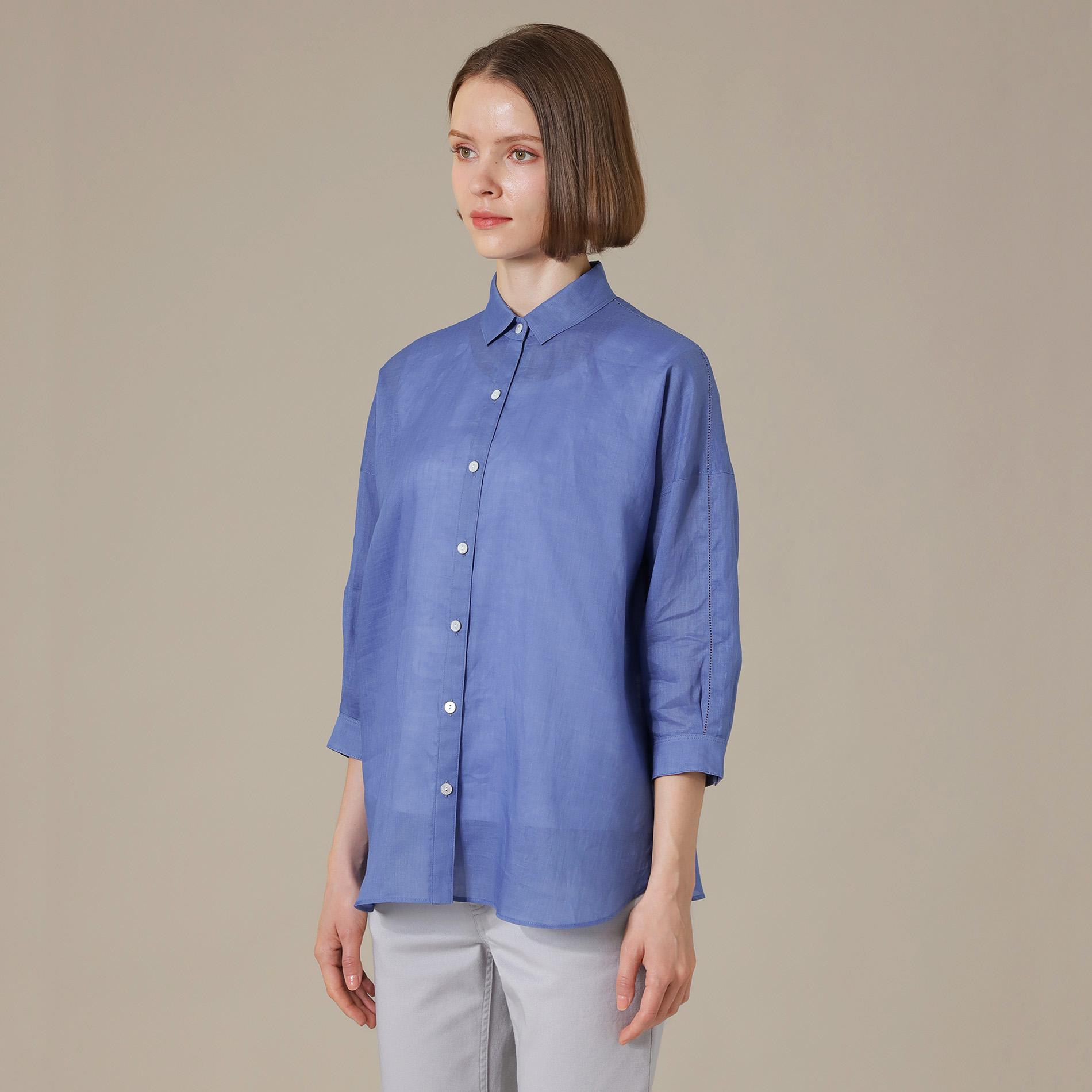 ◆◆麻ボイルシャツ