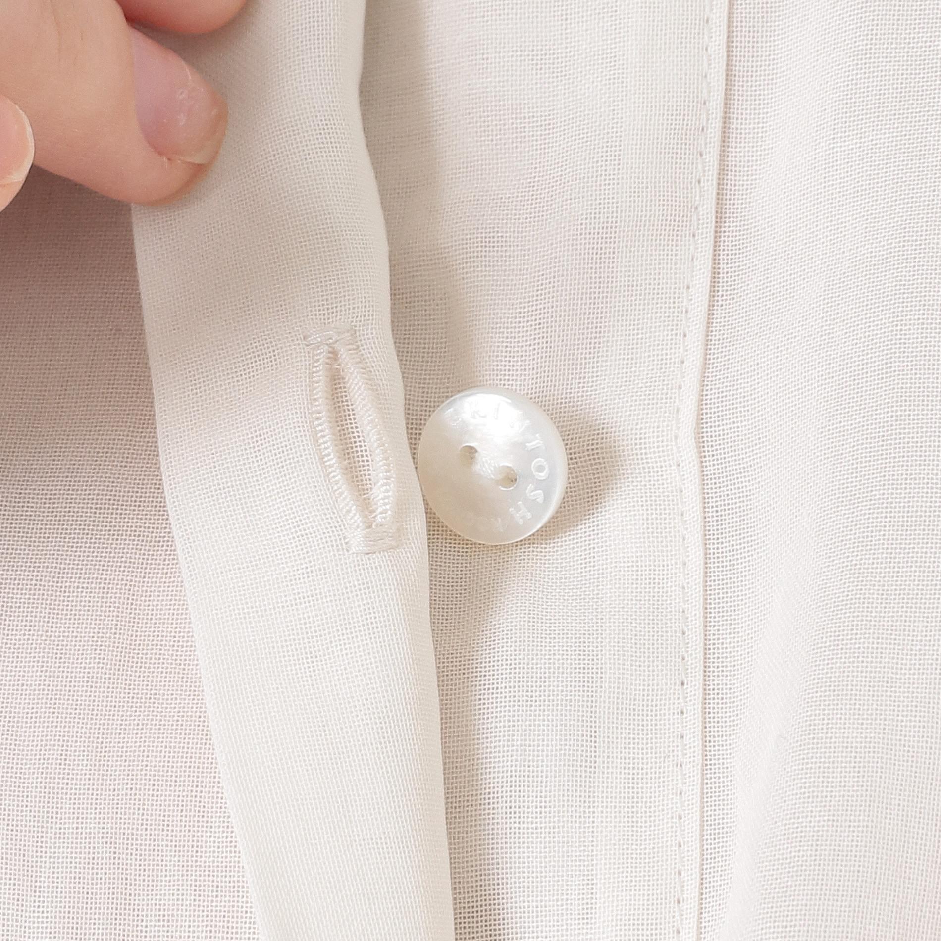 コットンボイルシャツ