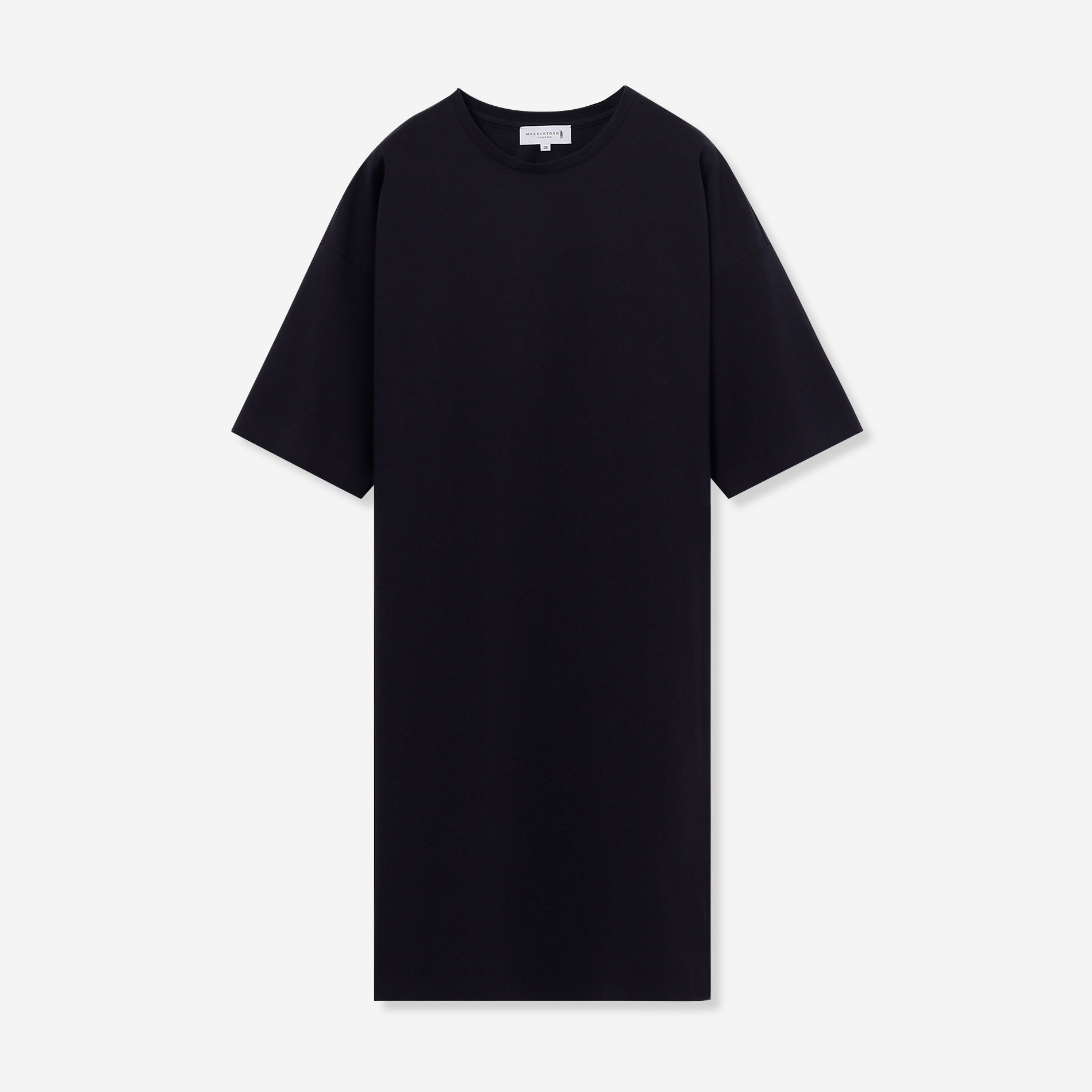【The Essential Collection】プレーティング天竺チュニックTシャツ