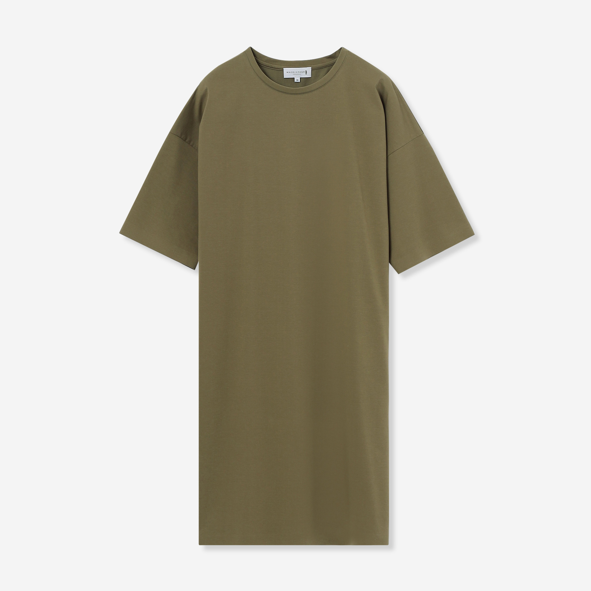 ◆◆【The Essential Collection】プレーティング天竺チュニックTシャツ