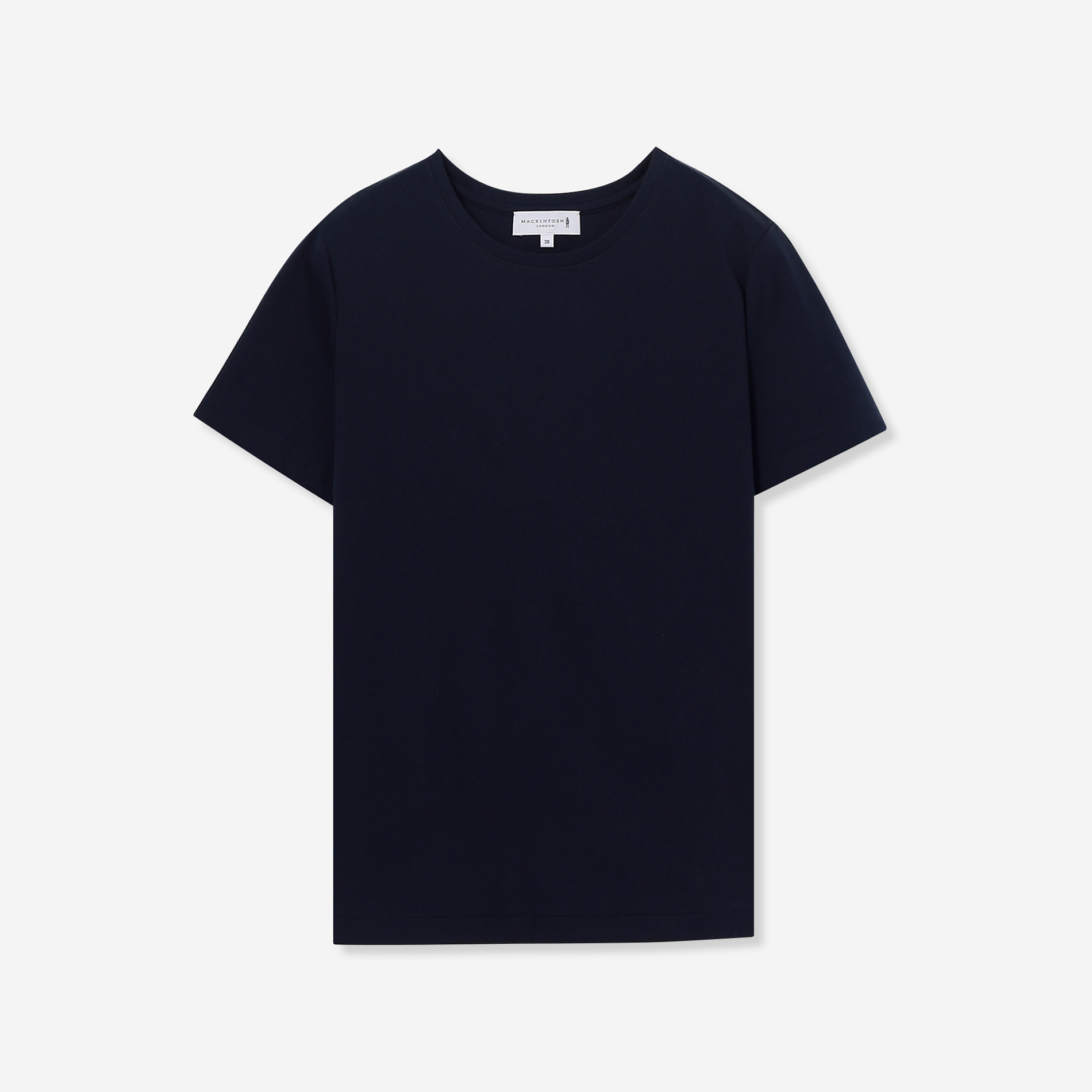 【The Essential Collection】スーピマコットンクルーネック半袖Tシャツ