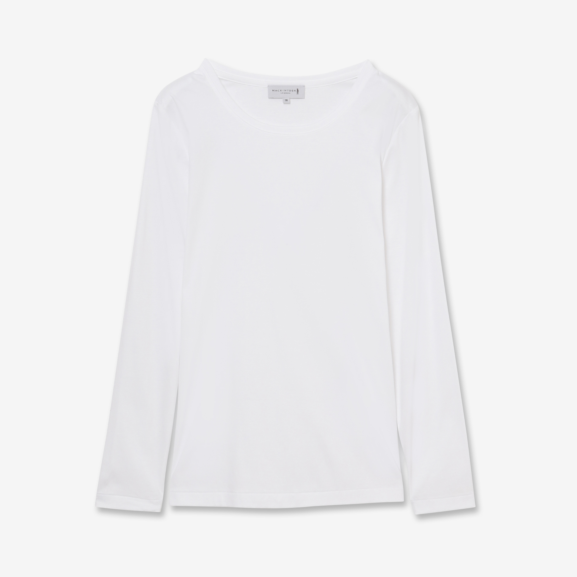【The Essential Collection】スーピマコットン長袖Tシャツ