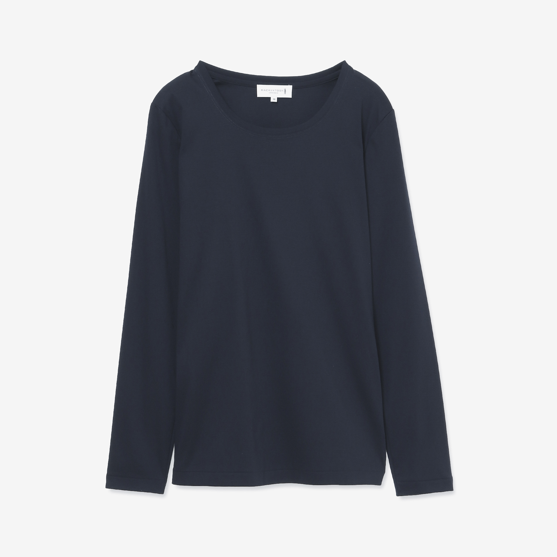 【The Essential Collection】スーピマコットンスムースロングTシャツ