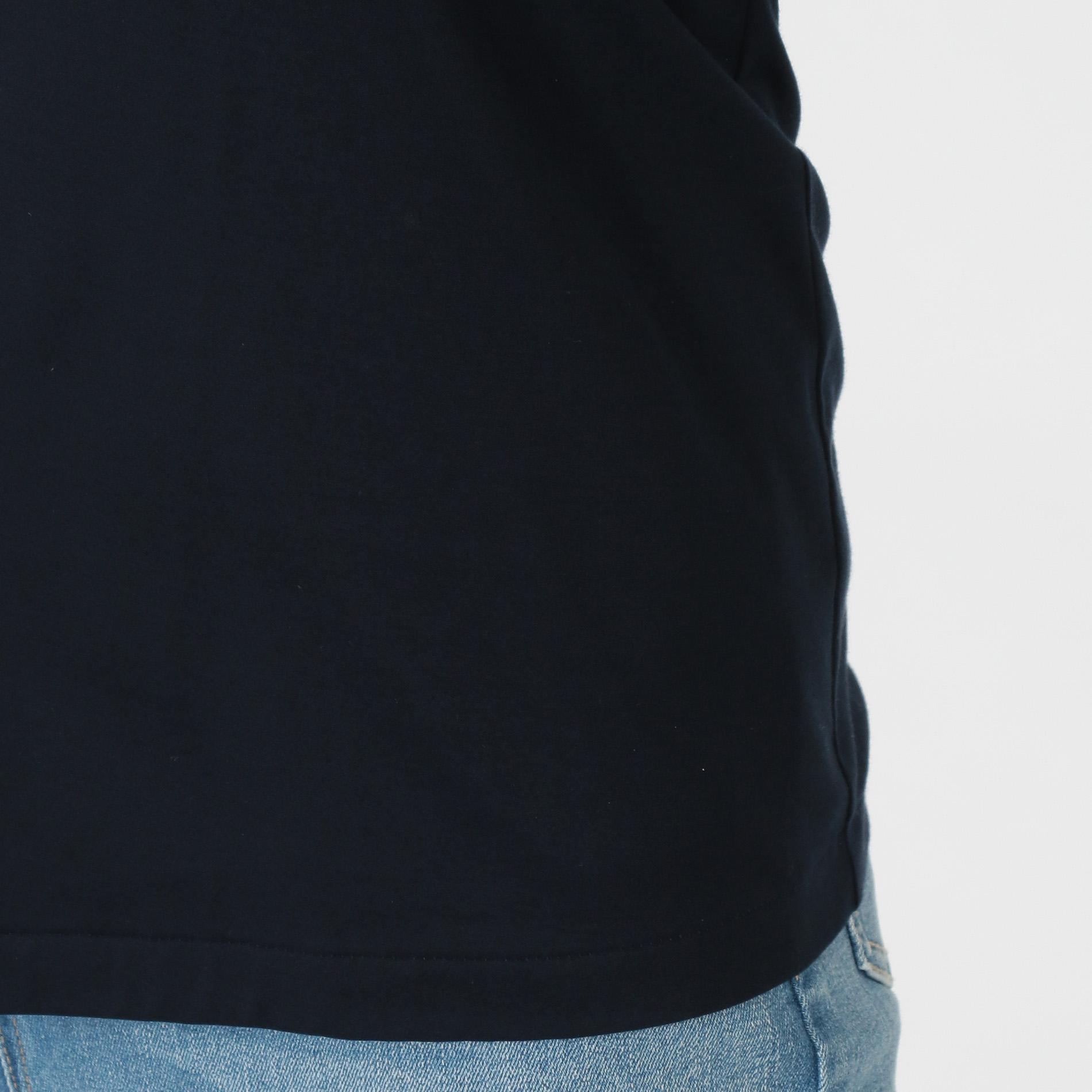 スーピマコットンスムース7分袖シャツ