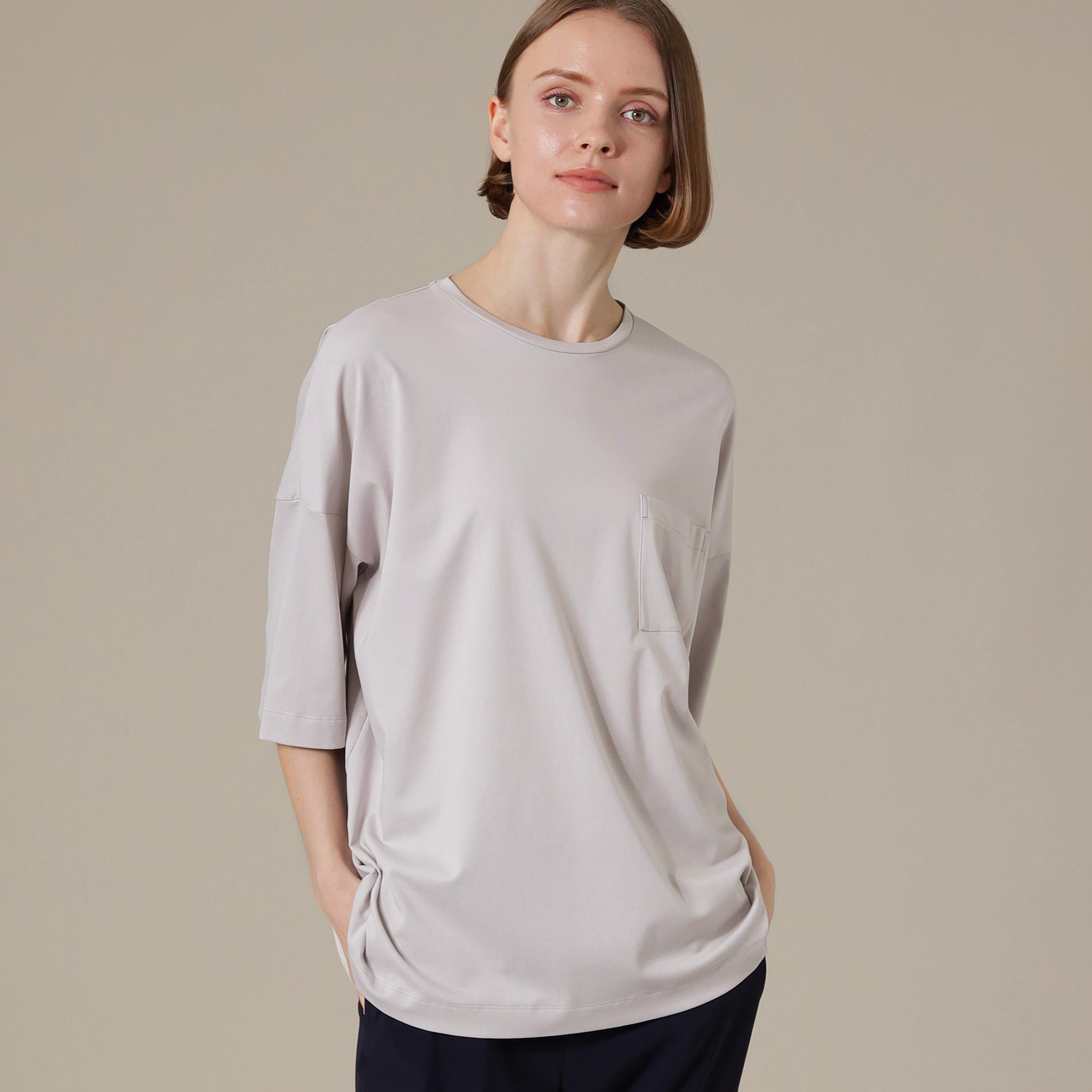 【WEB限定】【SUPER FINE LAB.】パウダーシュガーコットンTシャツ