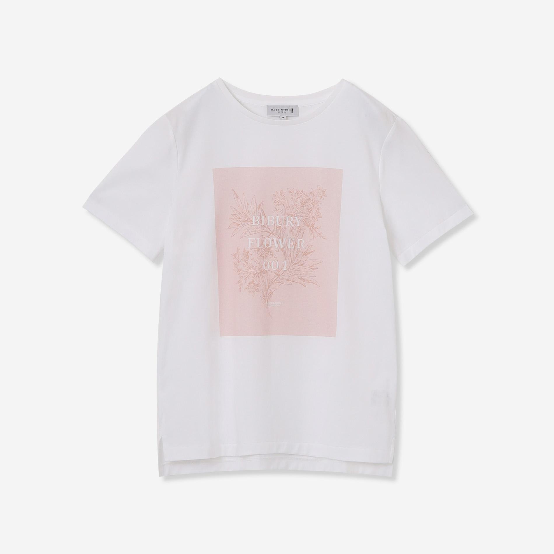【BIBURY FLOWER】001プリントTシャツ