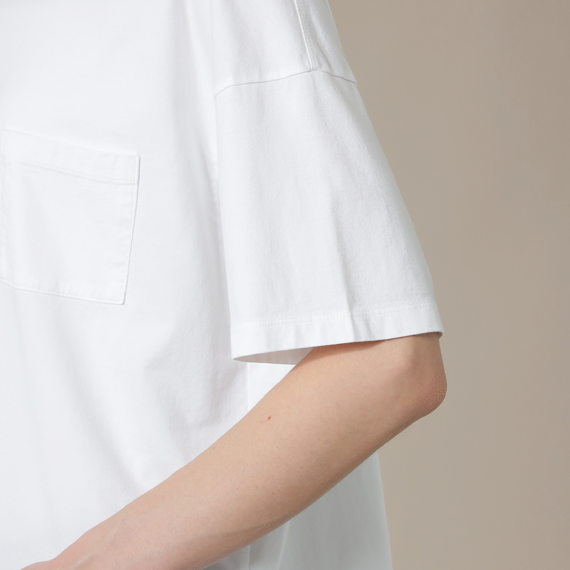 スーピマ天竺Tシャツ