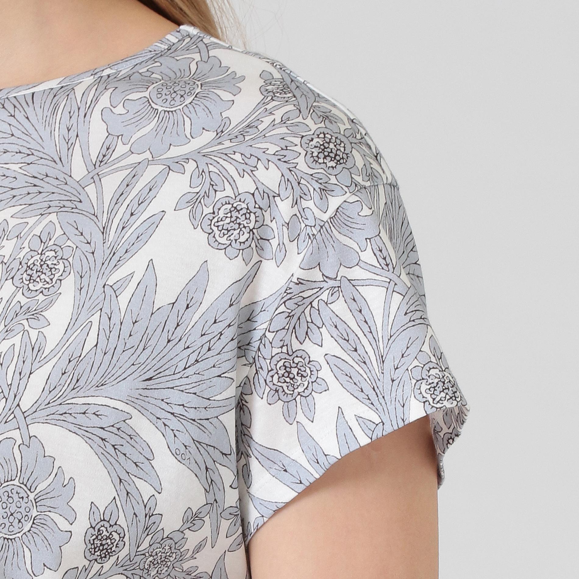 【BIBURY FLOWER】スムースTシャツ