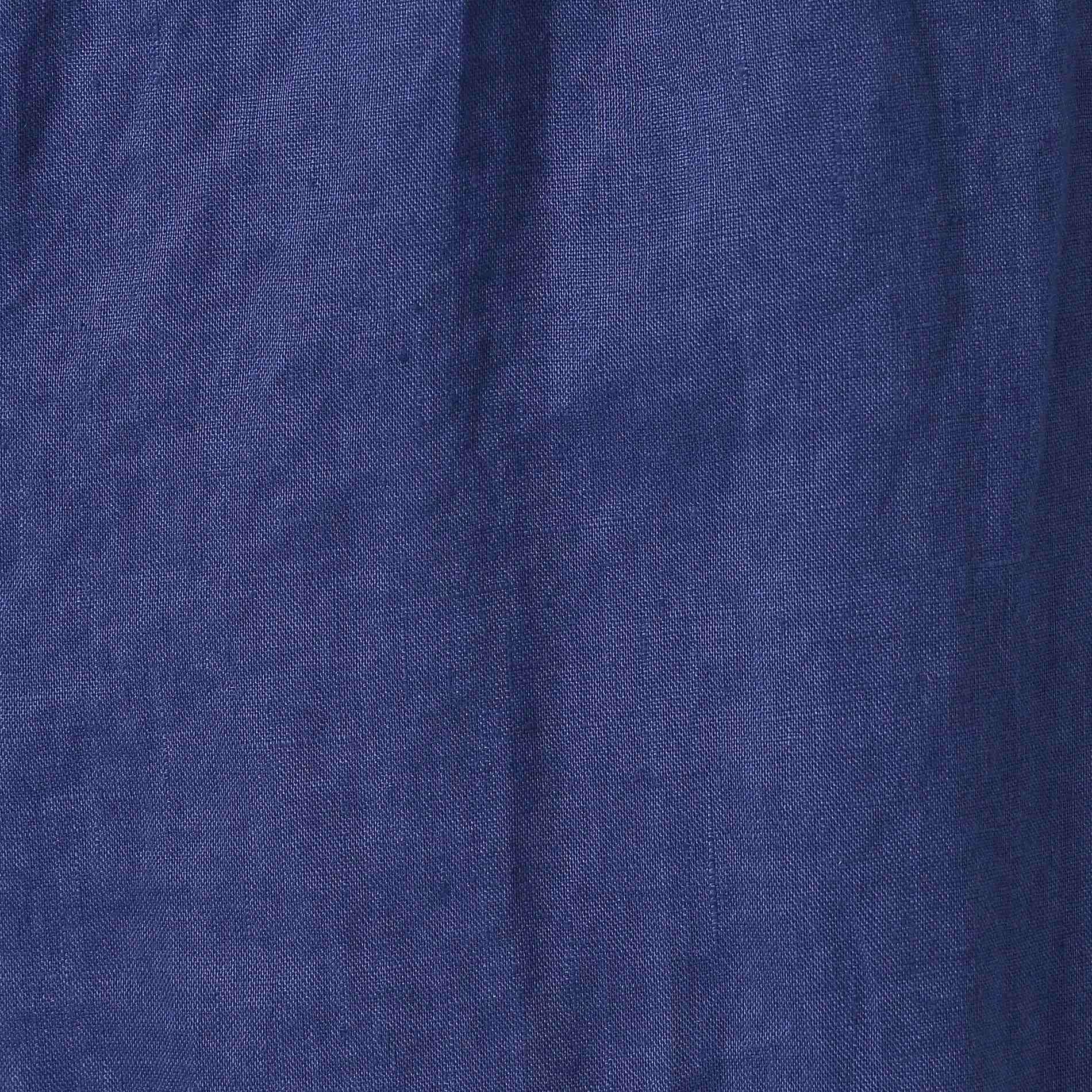 70フレンチ麻パンツ