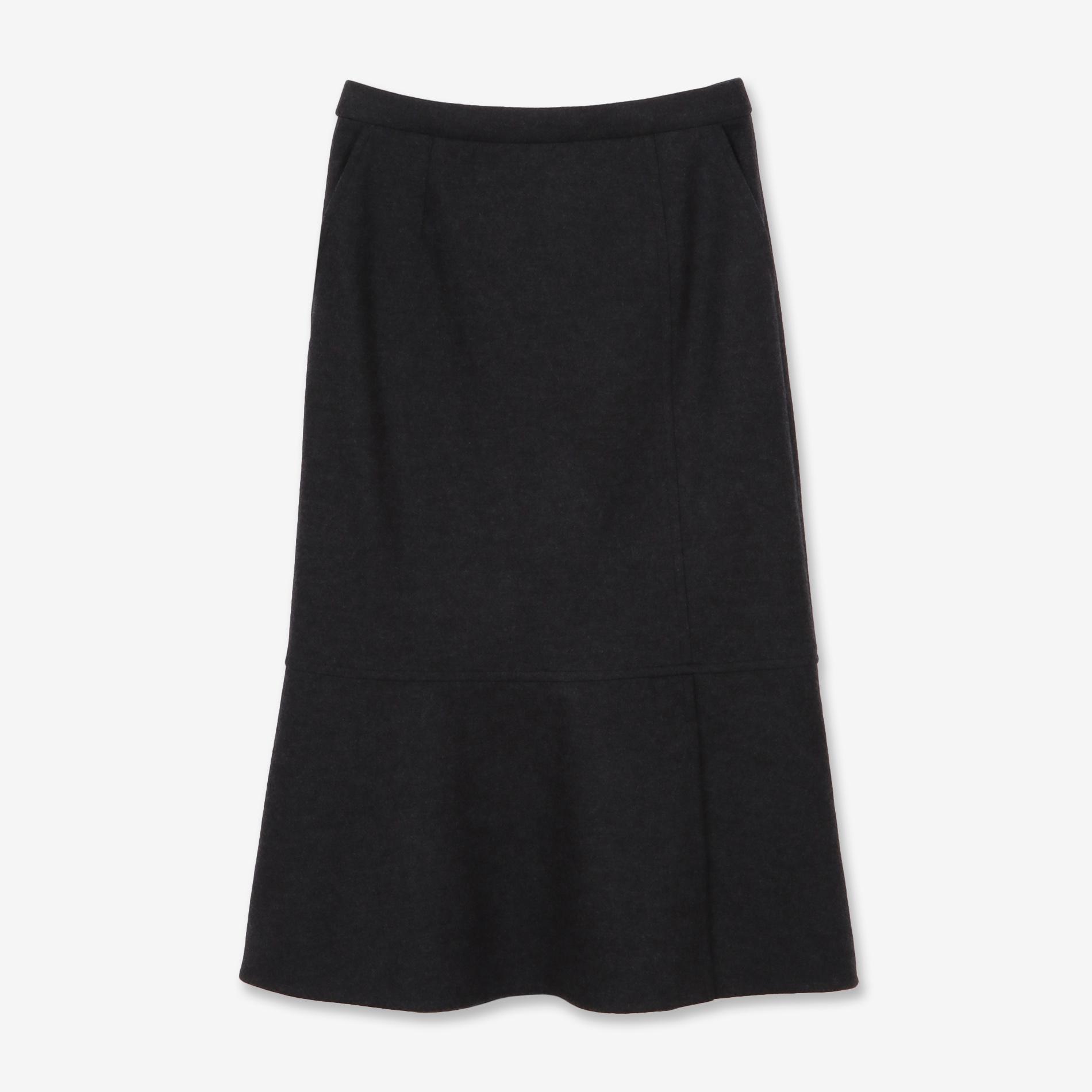 ウールミルドスカート