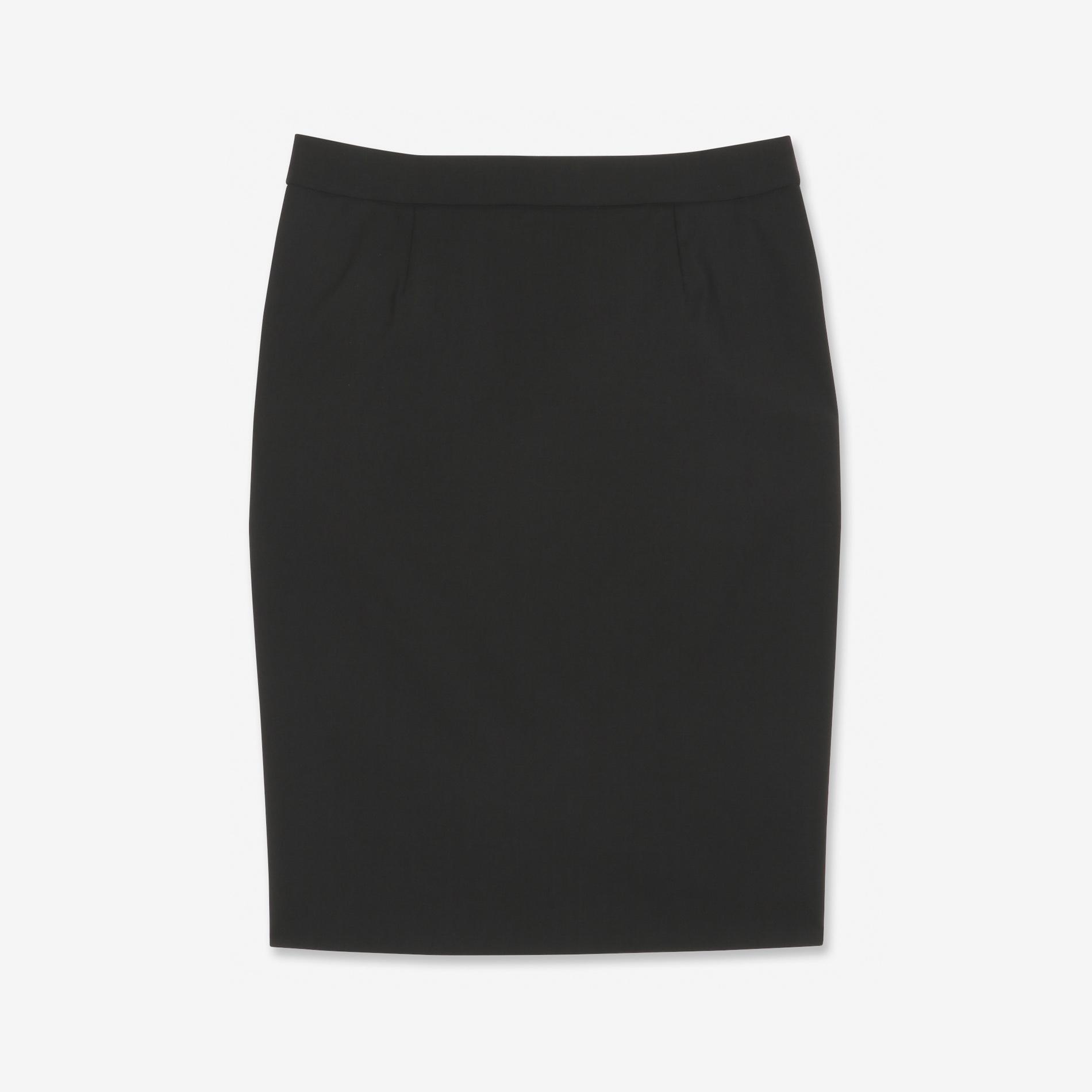 ウールトロストレッチスカート