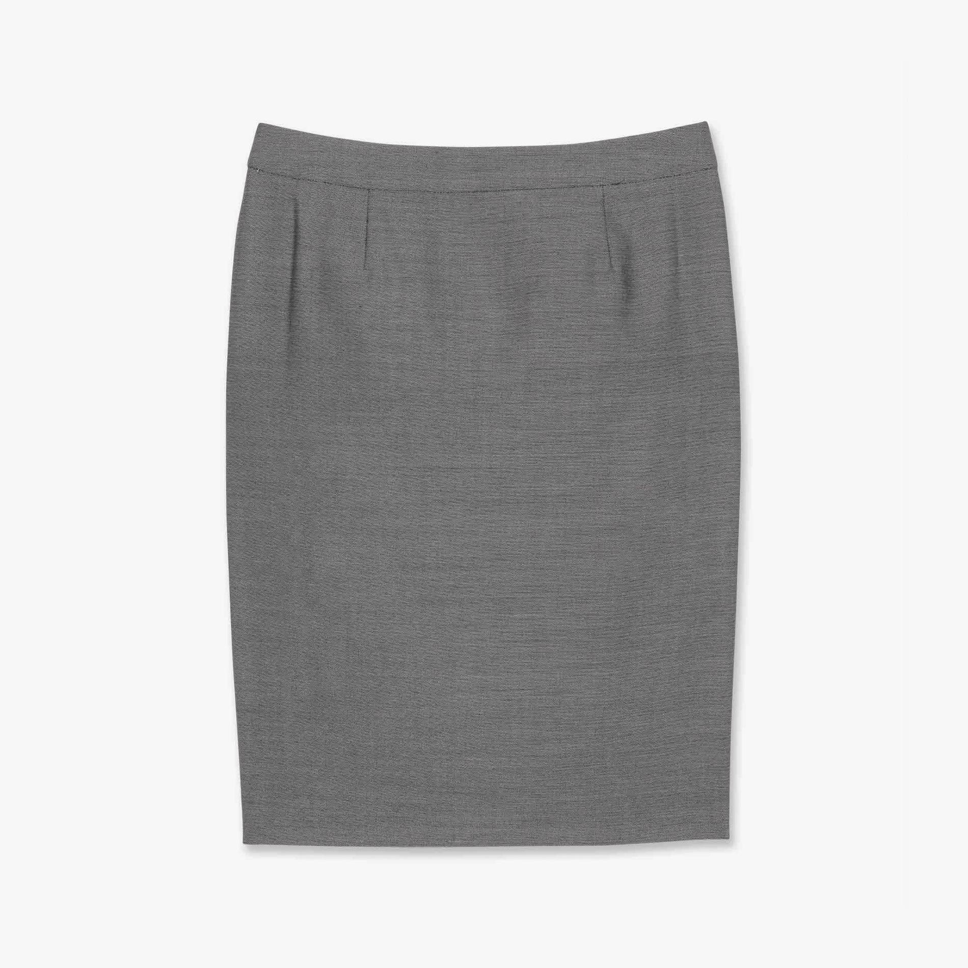 シルクウールドビーストレッチスカート
