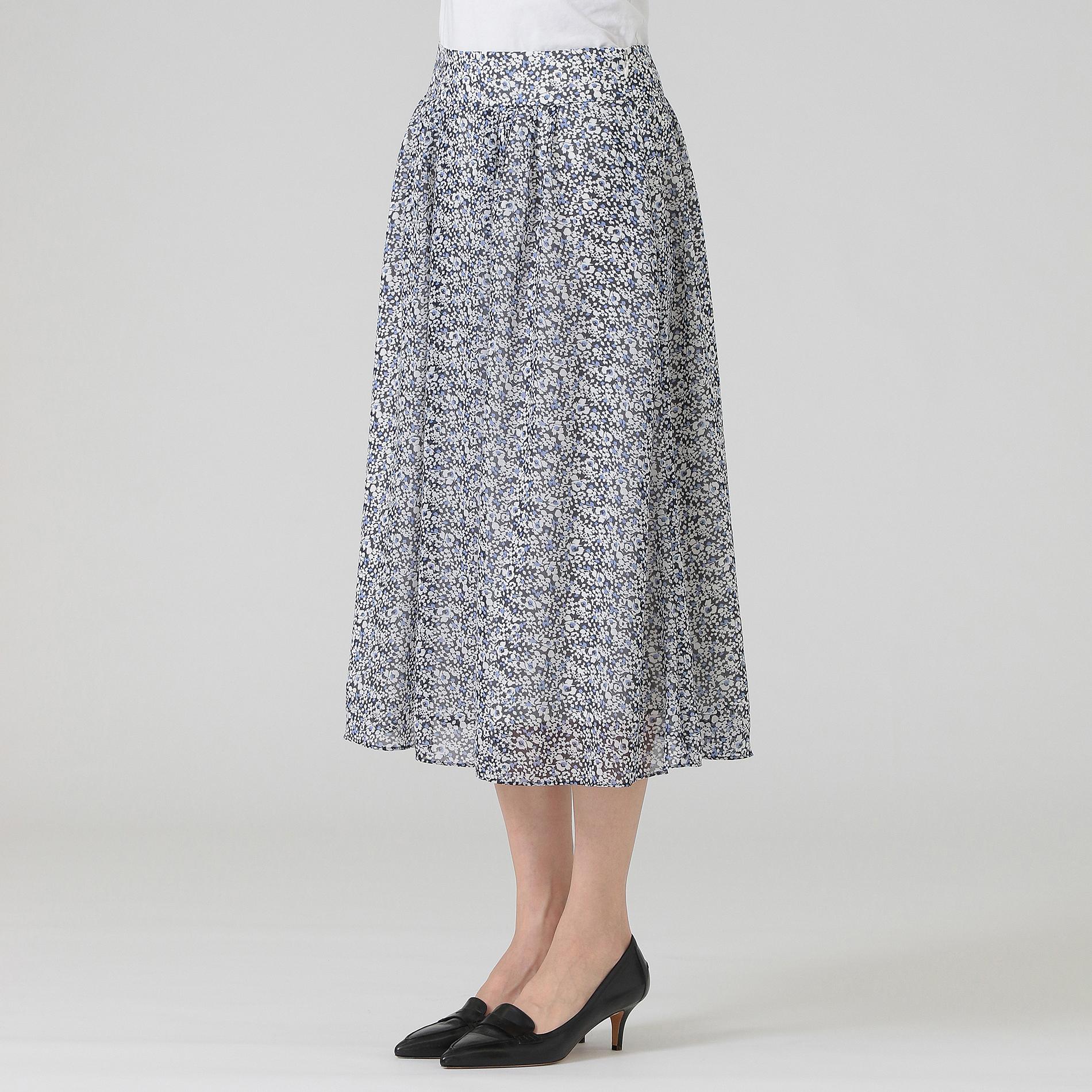 ガーデンローズドビーシフォンスカート