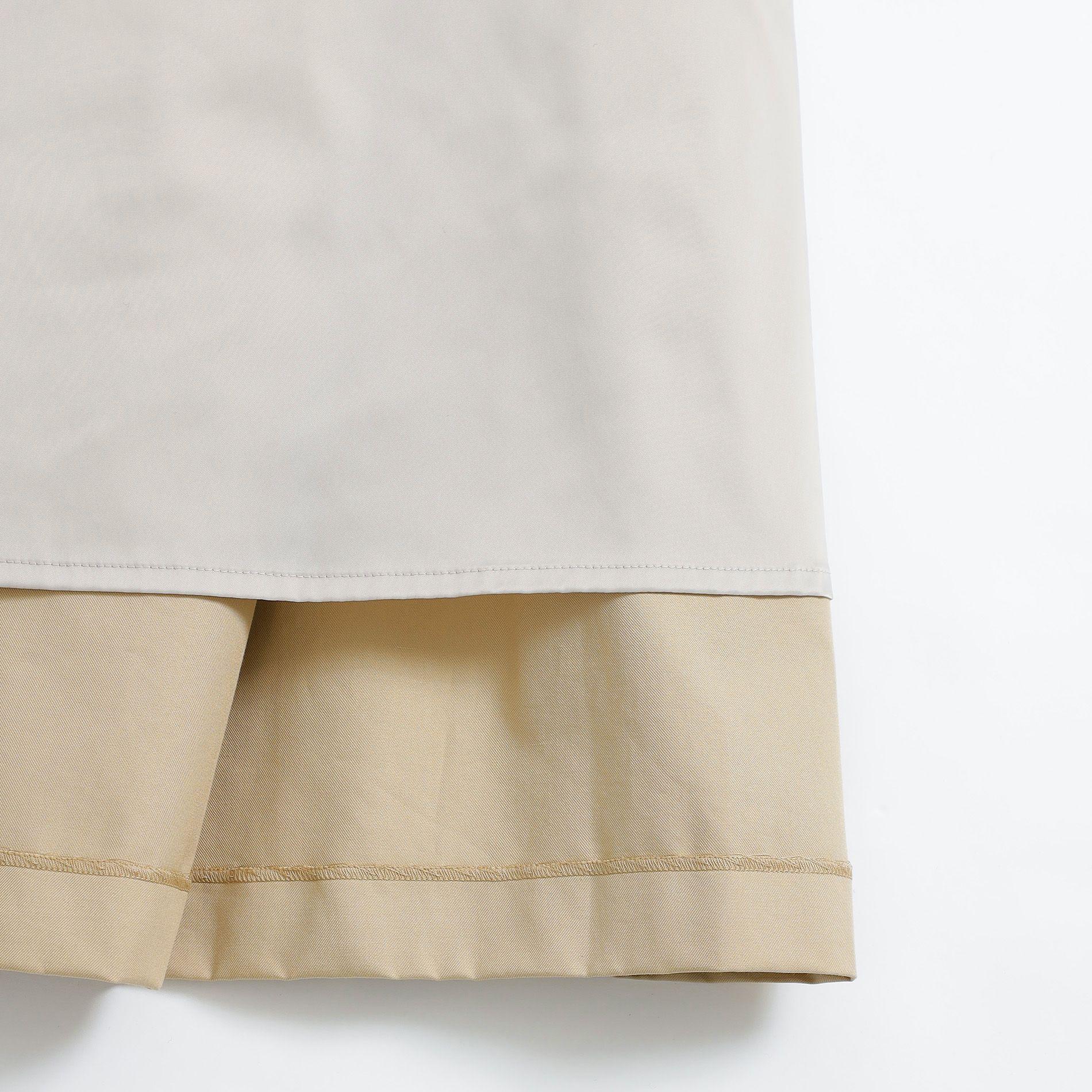 ハイカウントスーピマコットンスカート