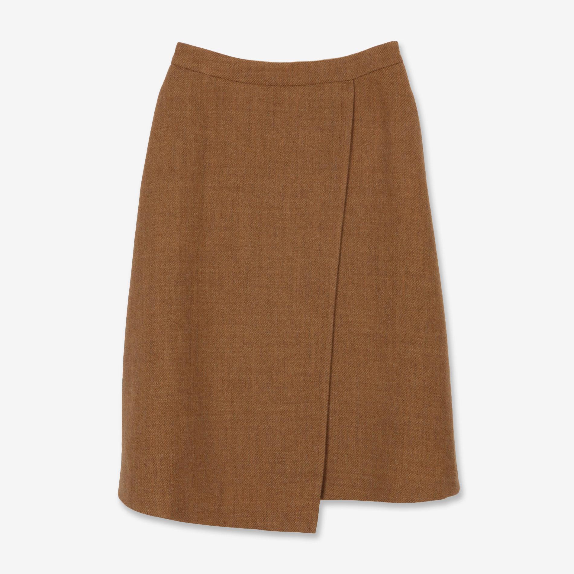 シェットランドウールスカート