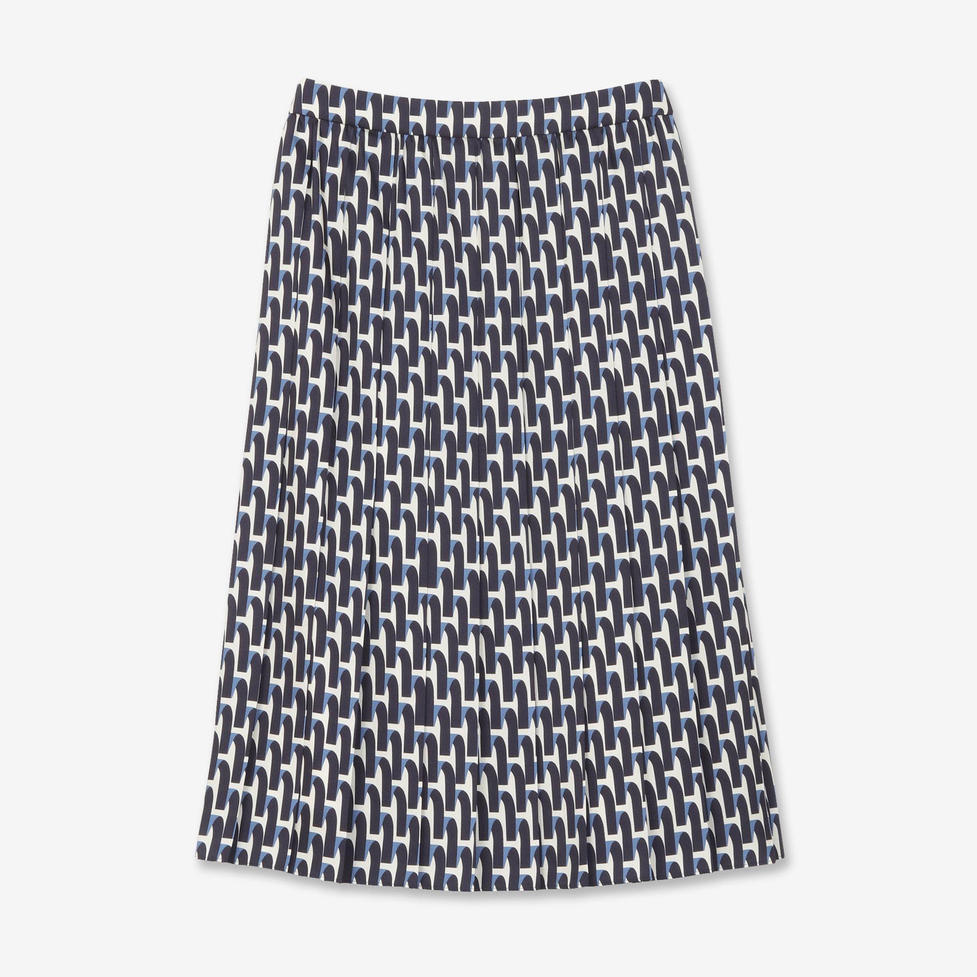 リボンプリントスカート