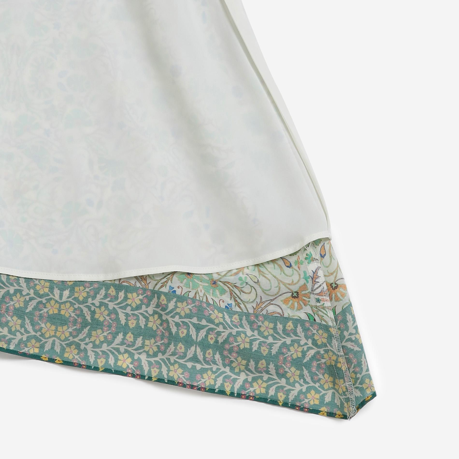 サマーオーナメントプリントスカート