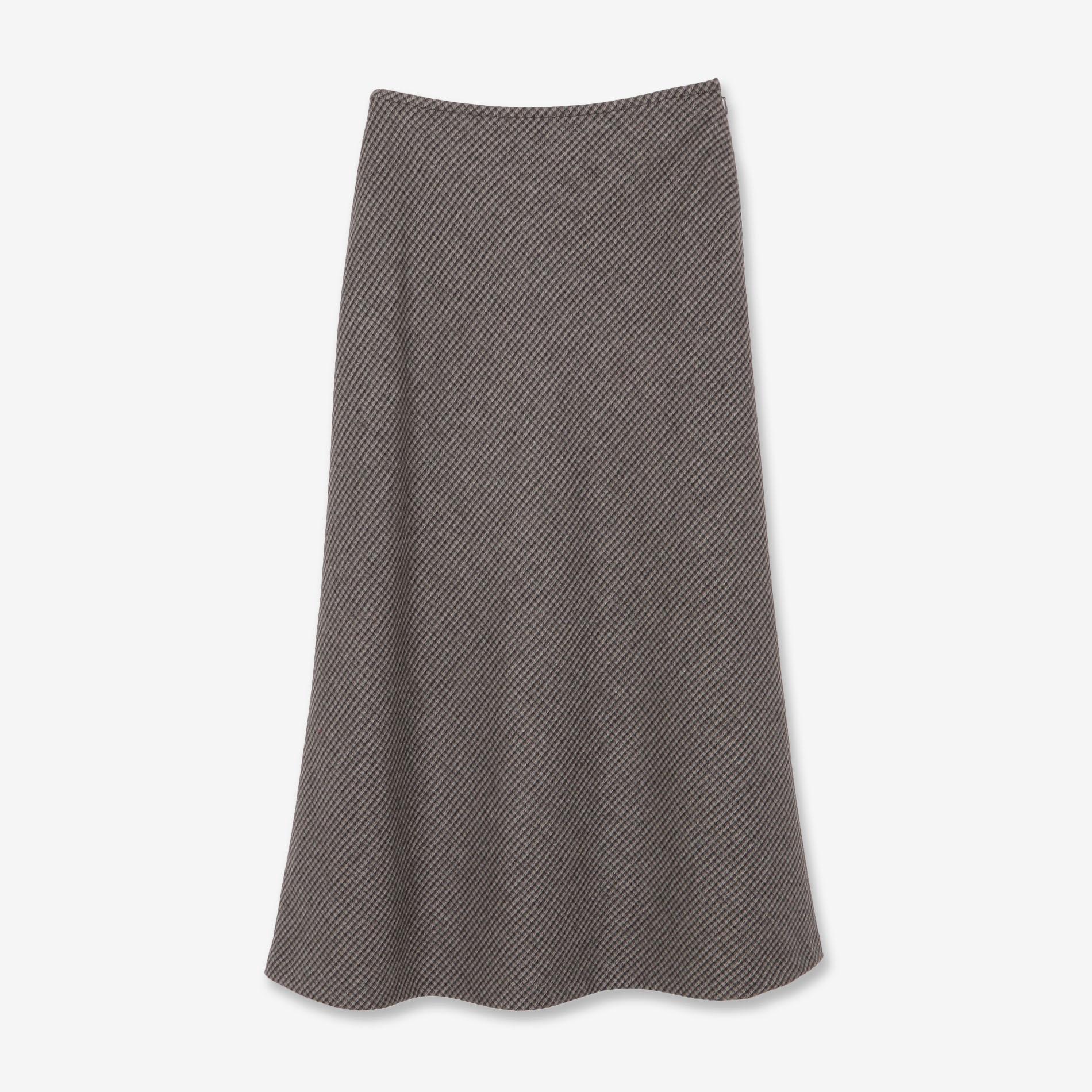 ウールナイロンスカート