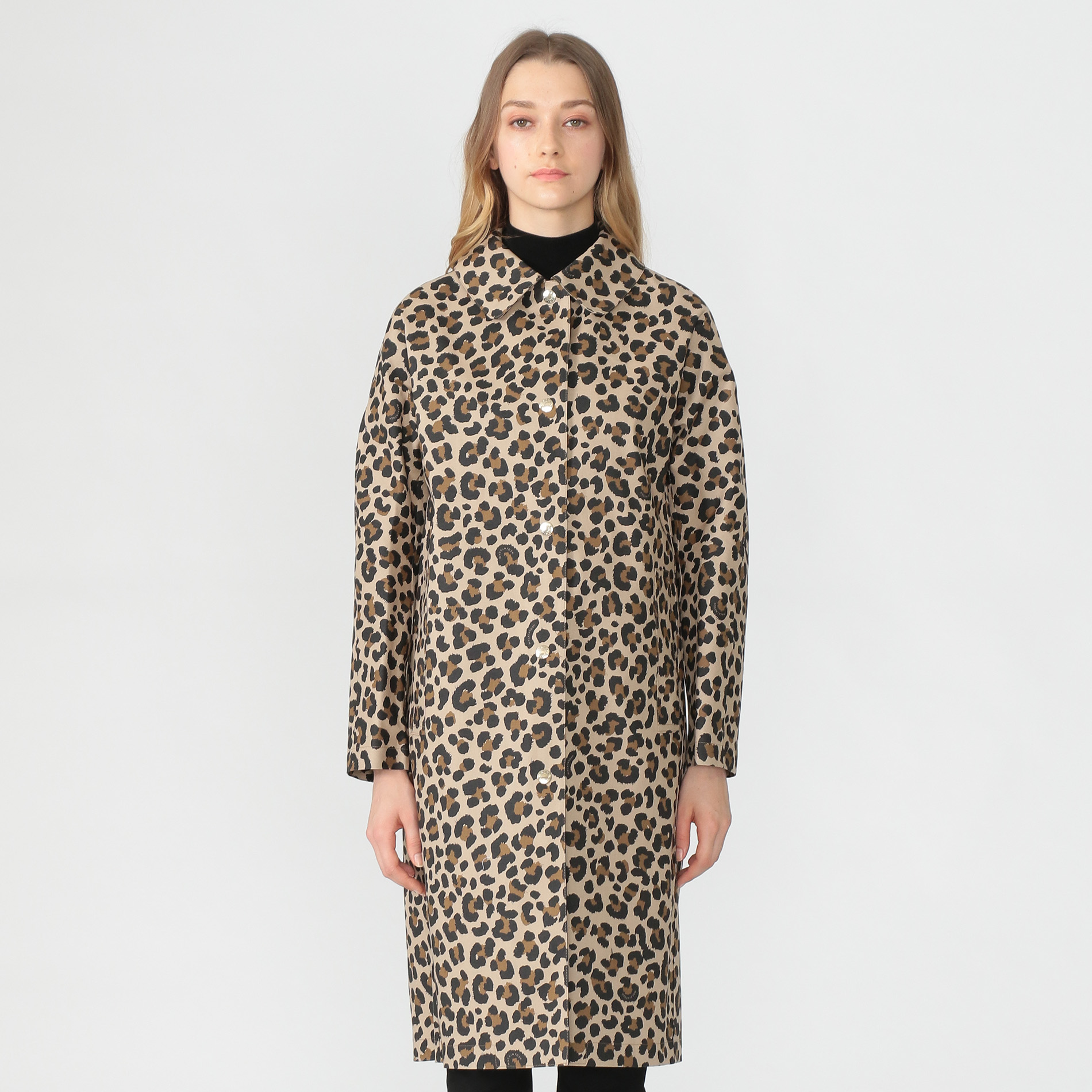 【MACKINTOSH】【FAIRLIE LEOPARD】ゴム引きコート