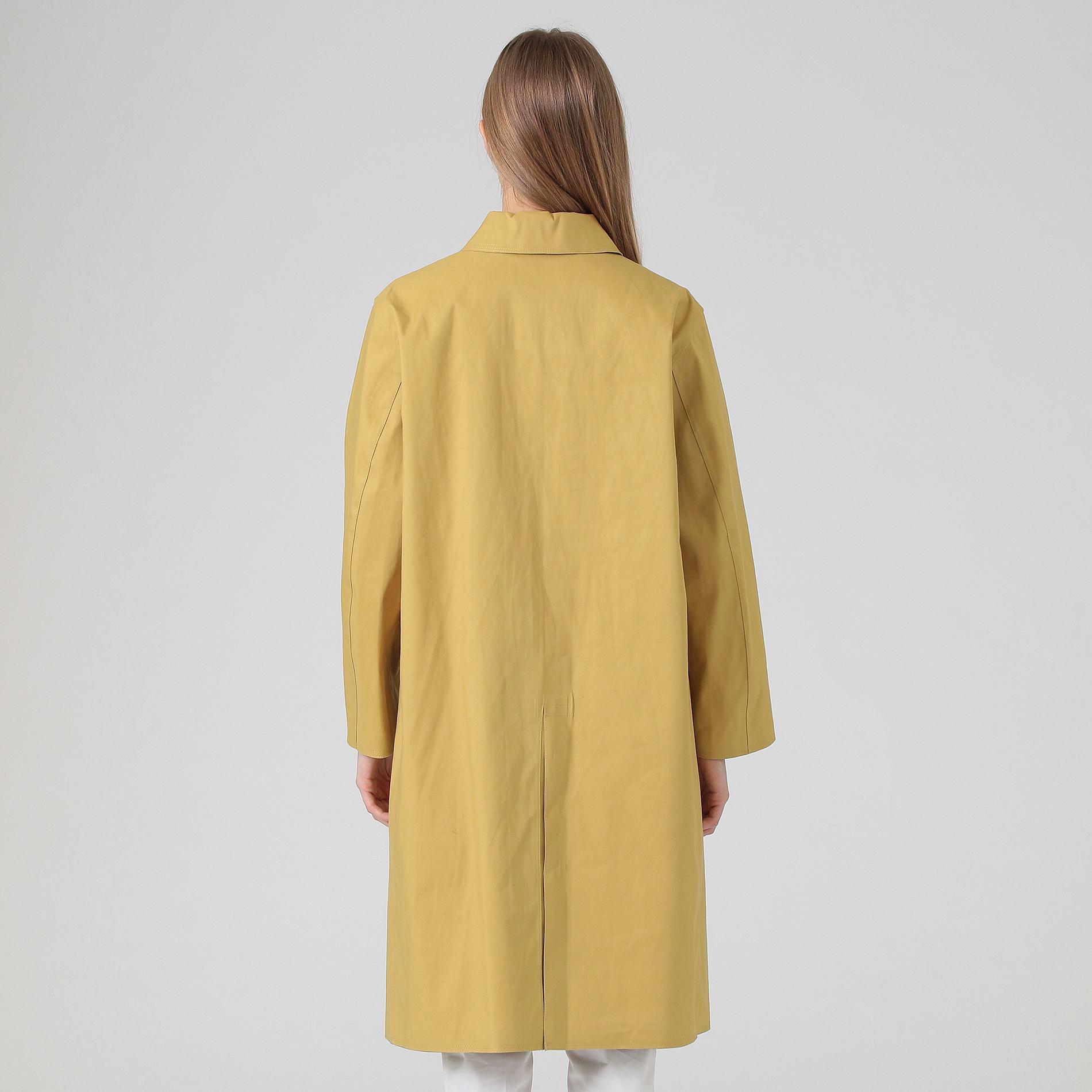 【MACKINTOSH】【GARMONY】ゴム引きステンカラーコート
